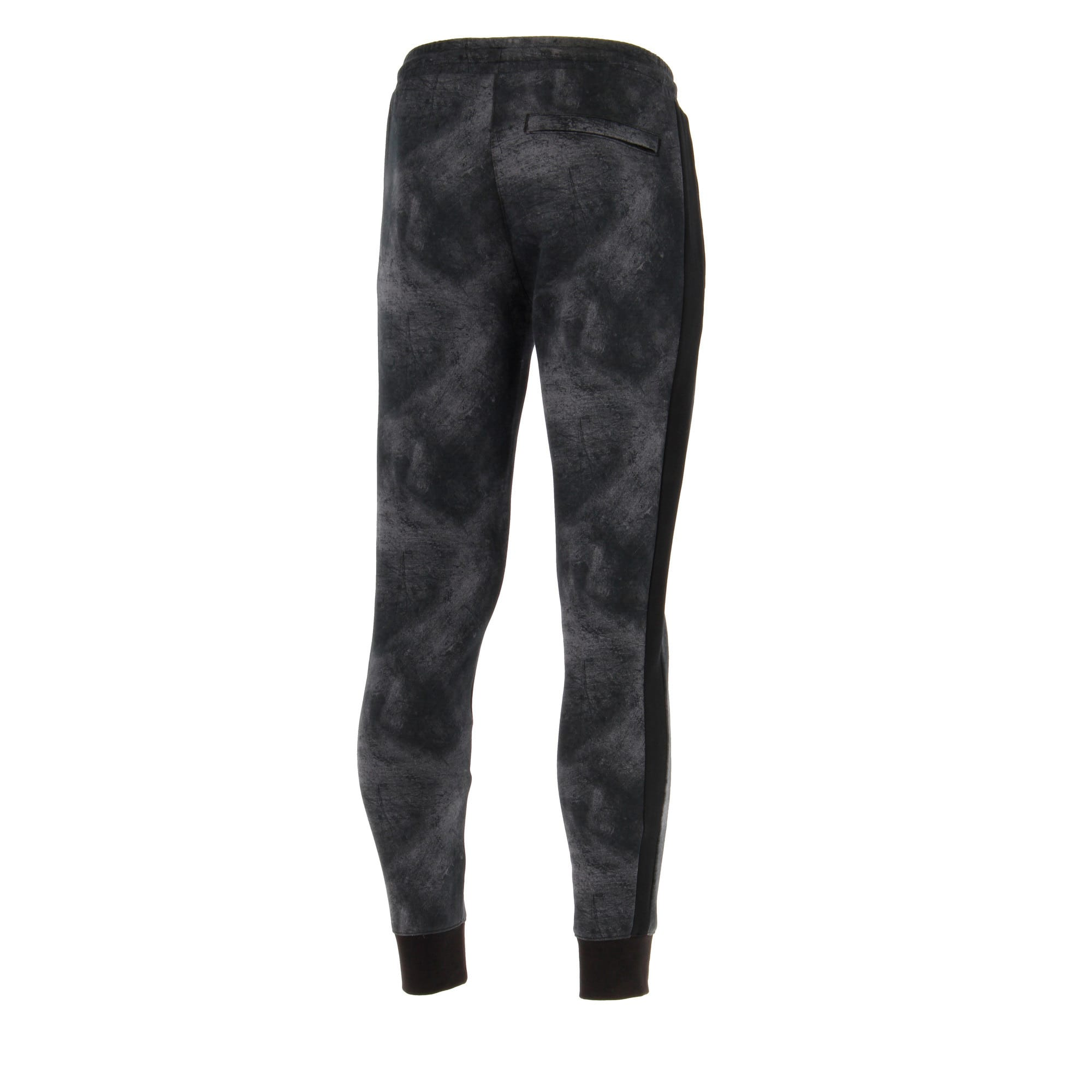 Thumbnail 3 of Classics All-Over Print T7 Men's Pants, Puma Black-3, medium