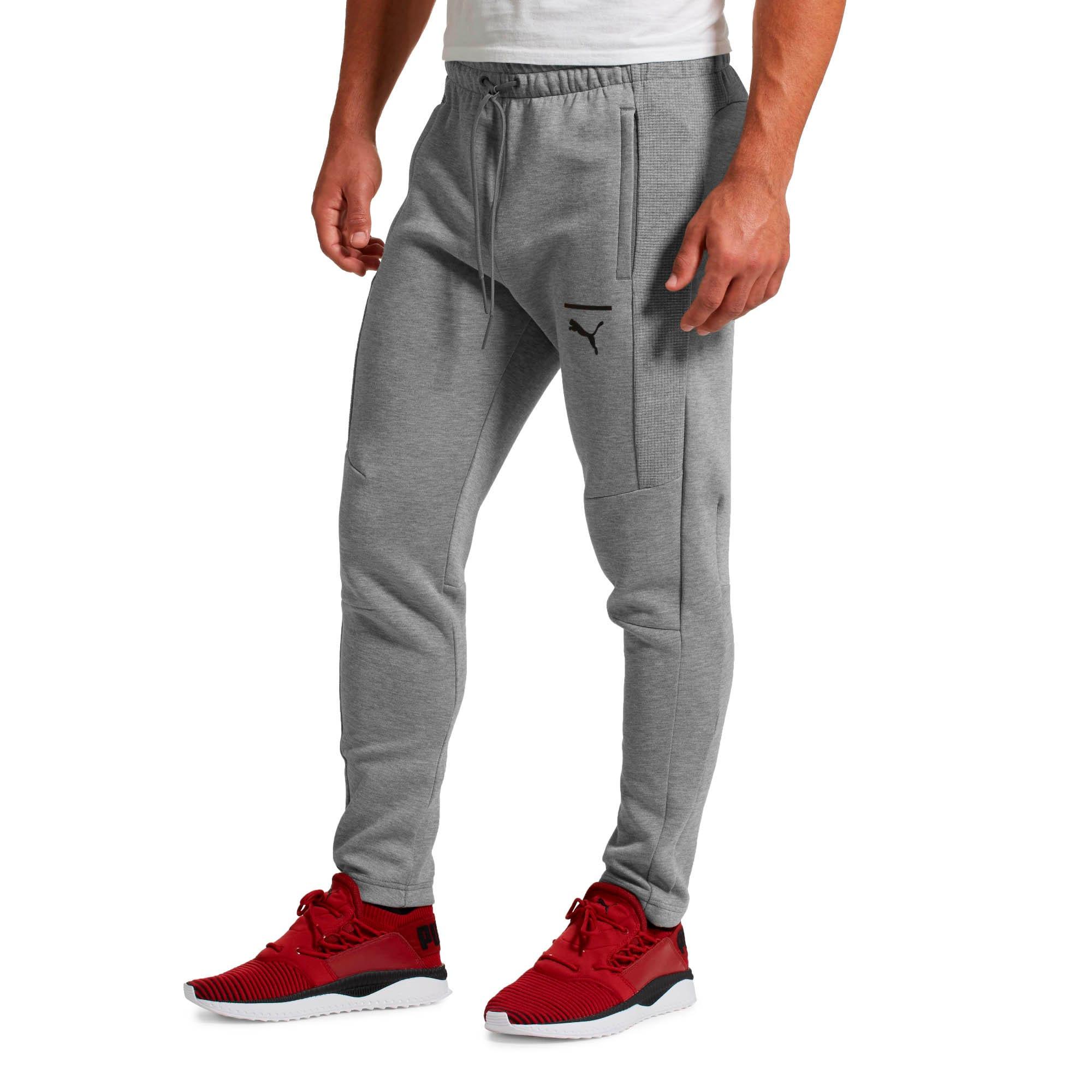 Thumbnail 2 of Pace Men's Sweatpants, Medium Gray Heather, medium