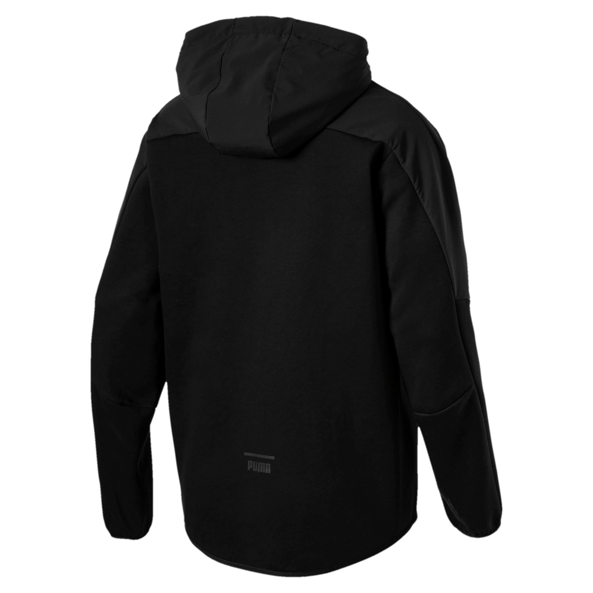 Thumbnail 3 of Pace LAB Men's Full Zip Hoodie, Puma Black, medium