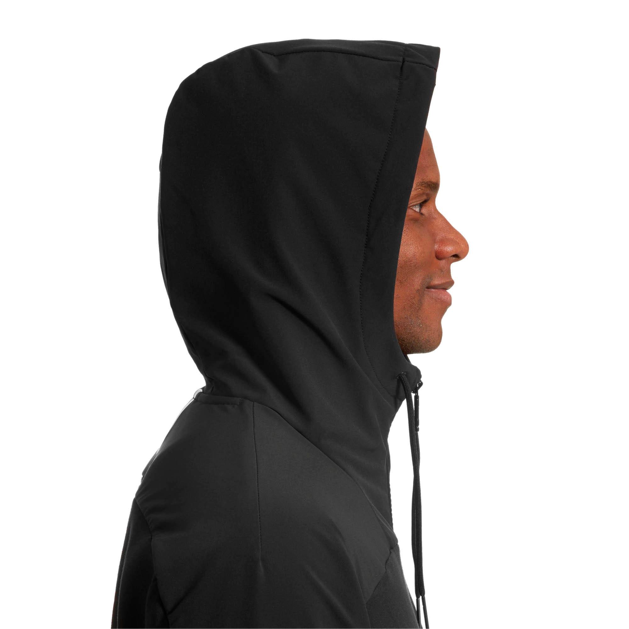 Thumbnail 4 of Pace LAB Men's Full Zip Hoodie, Puma Black, medium