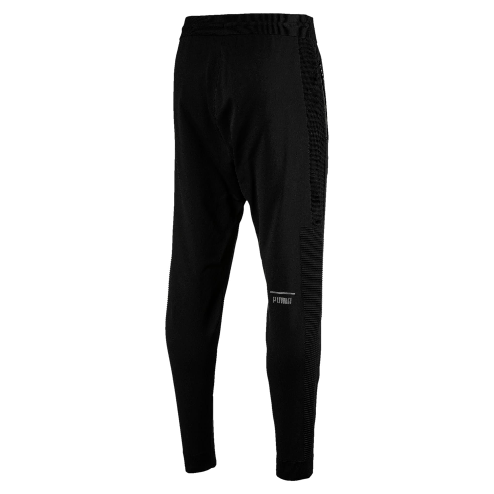 Thumbnail 4 of Pace evoKNIT Move Men's Sweatpants, Puma Black, medium