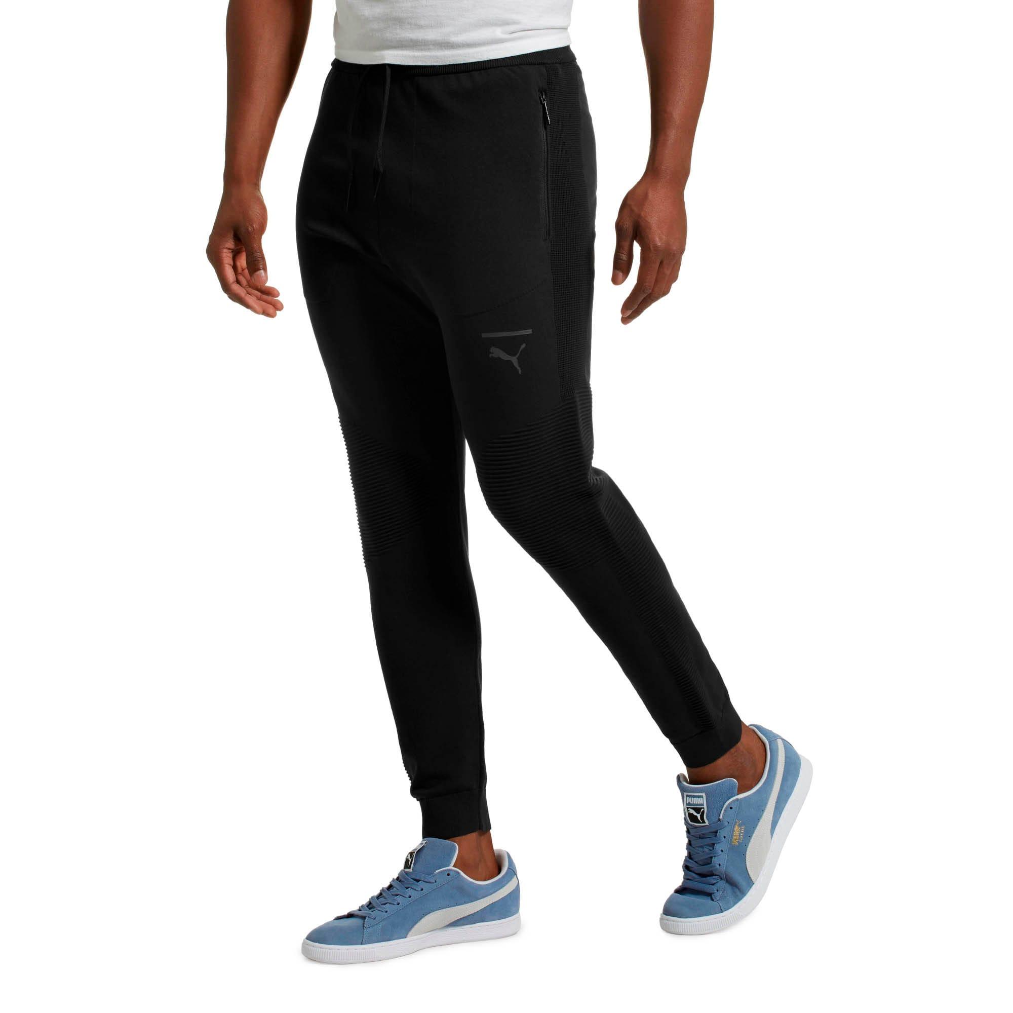 Thumbnail 2 of Pace evoKNIT Move Men's Sweatpants, Puma Black, medium