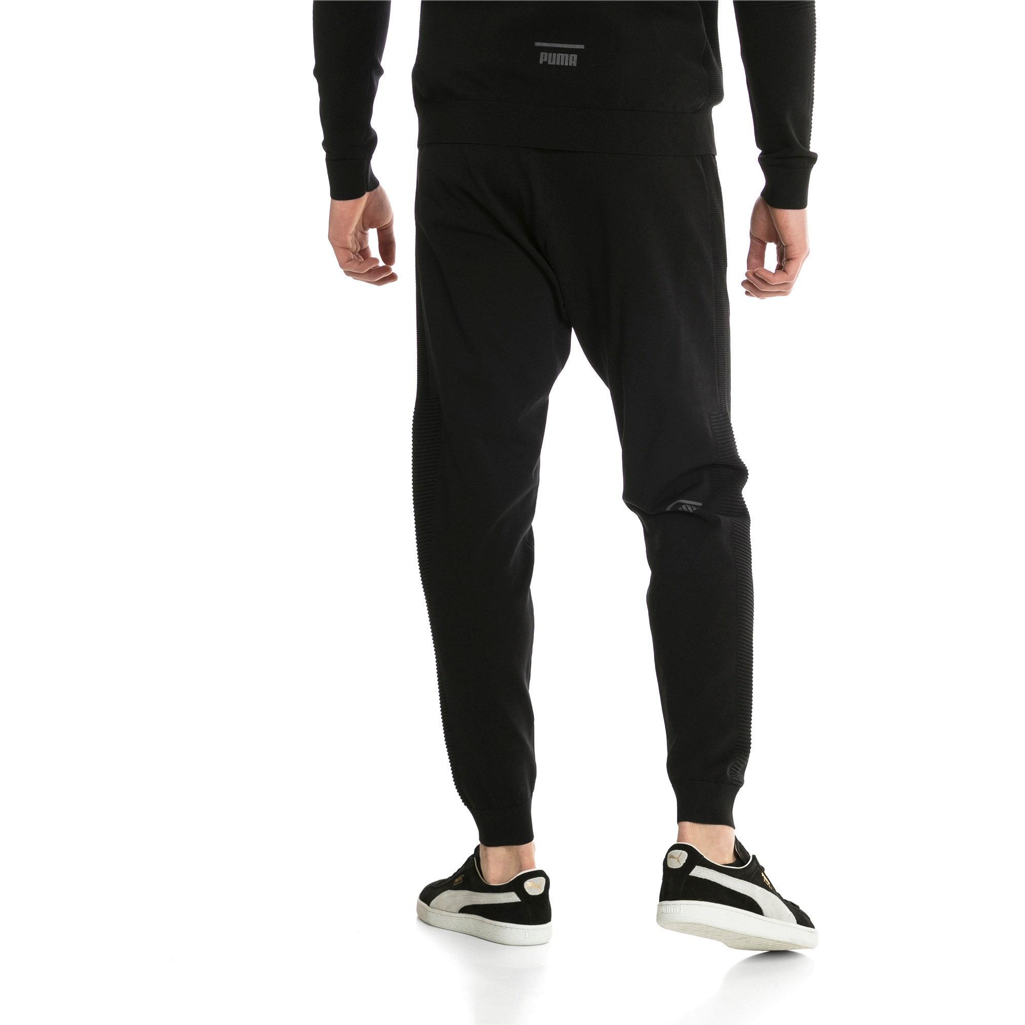 Thumbnail 3 of Pace evoKNIT Move Men's Sweatpants, Puma Black, medium