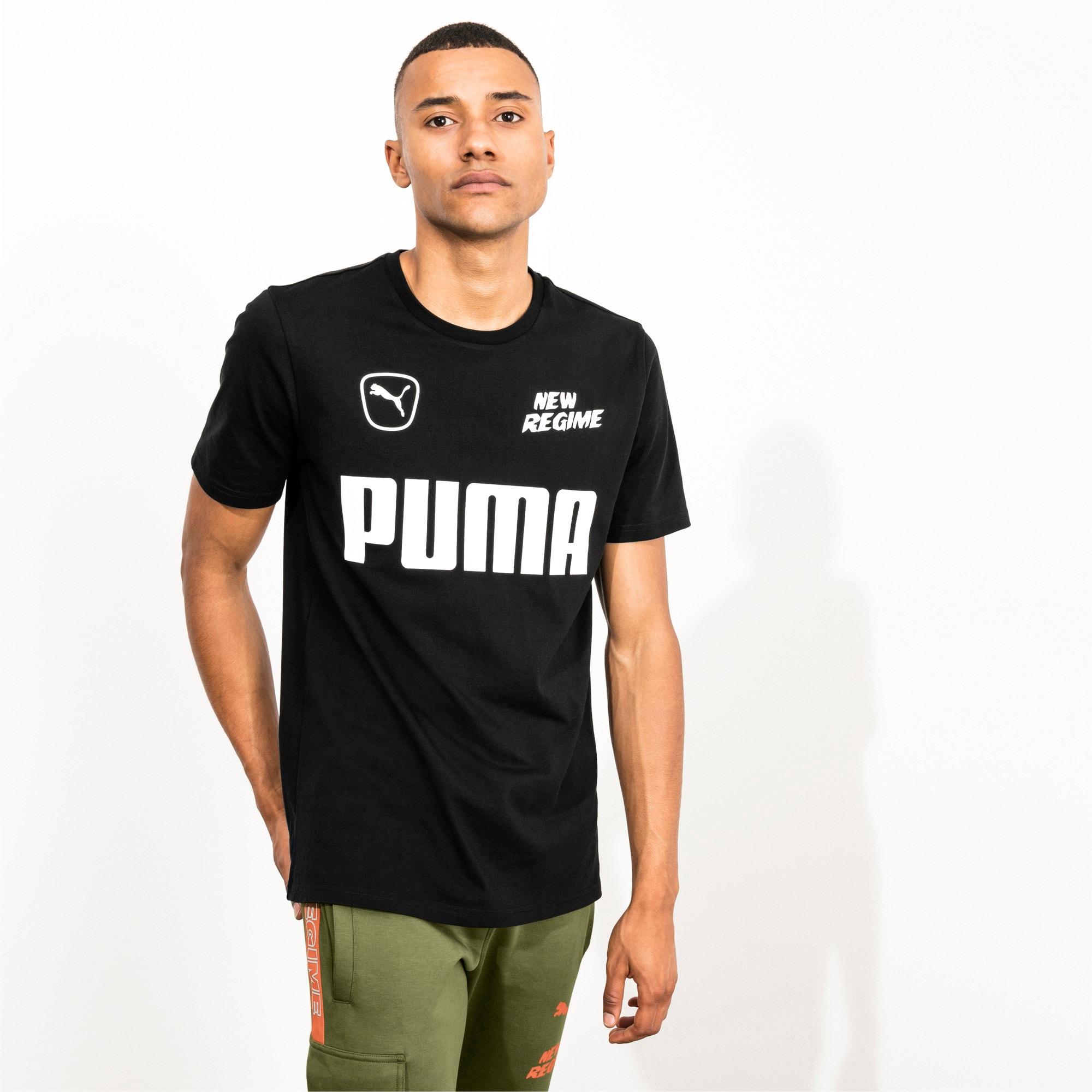 Thumbnail 2 of PUMA x ATELIER NEW REGIME Men's Tee, Puma Black, medium