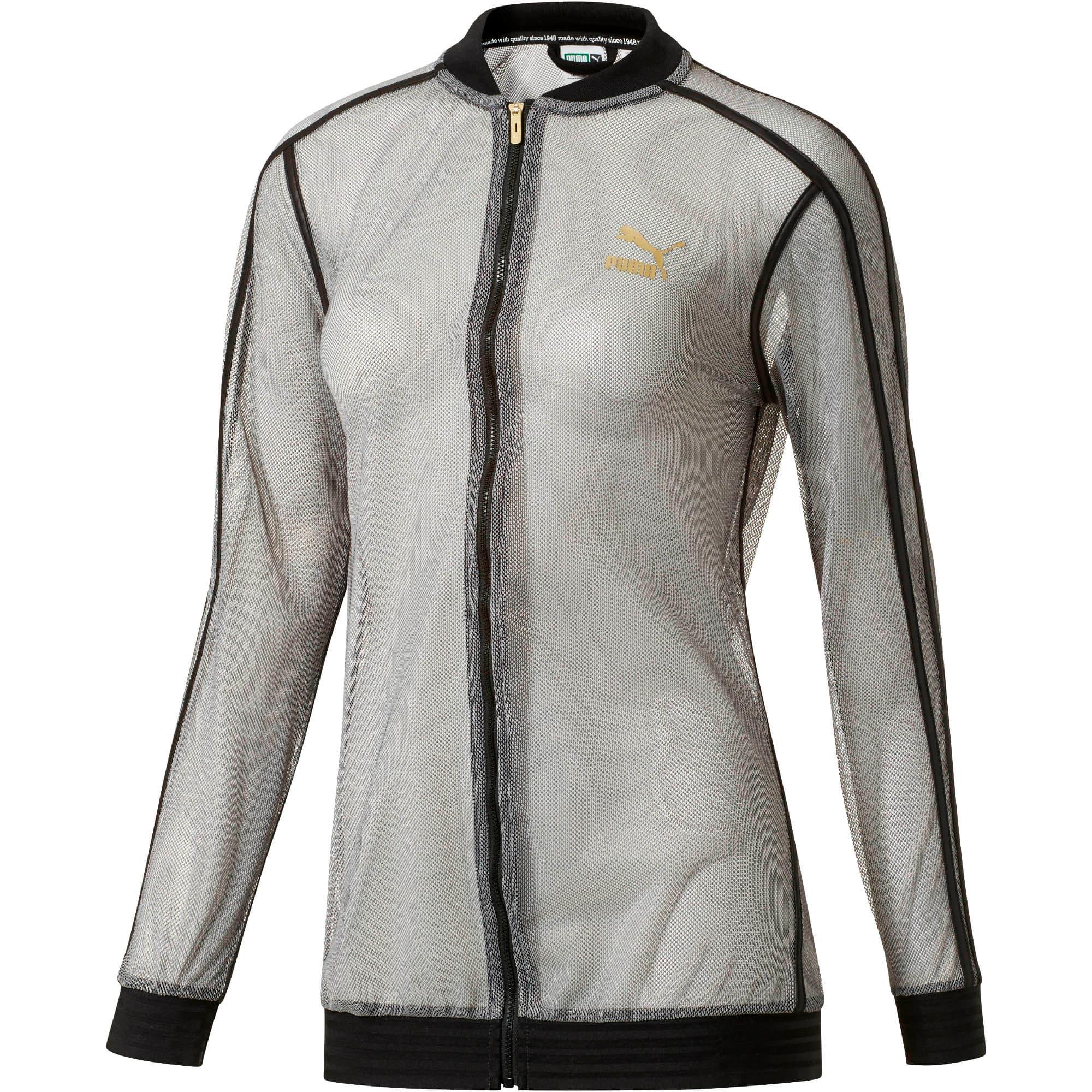 Thumbnail 1 of Fashion T7 Jacket, Puma Black, medium