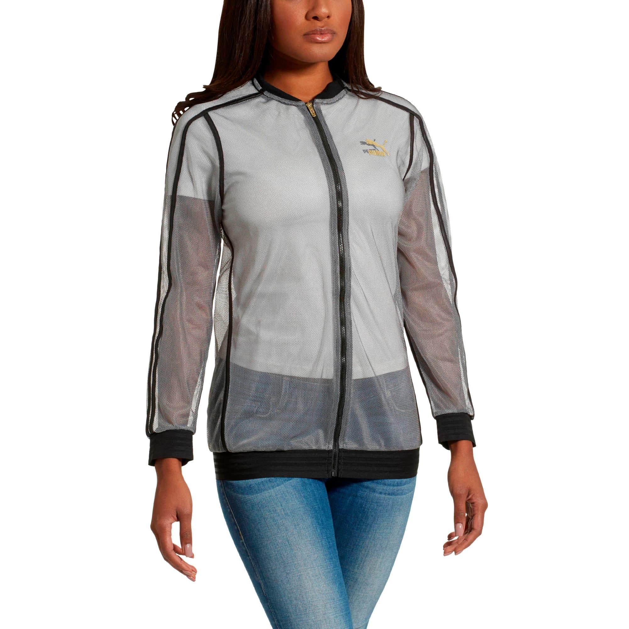 Thumbnail 2 of Fashion T7 Jacket, Puma Black, medium