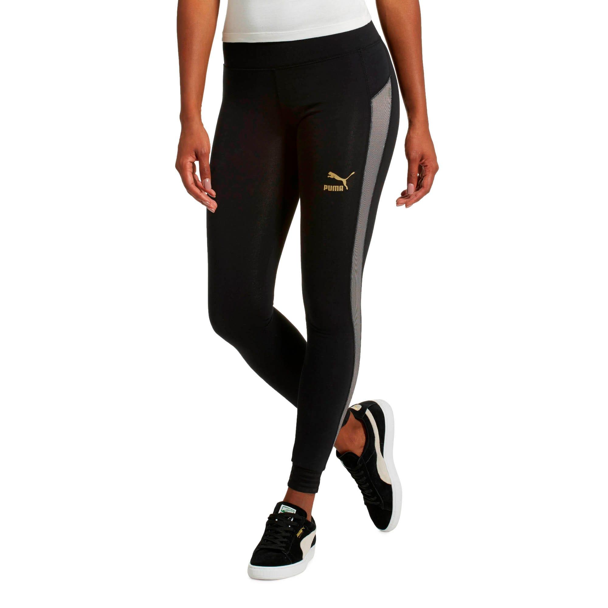 Thumbnail 2 of Fashion T7 Leggings, Puma Black, medium