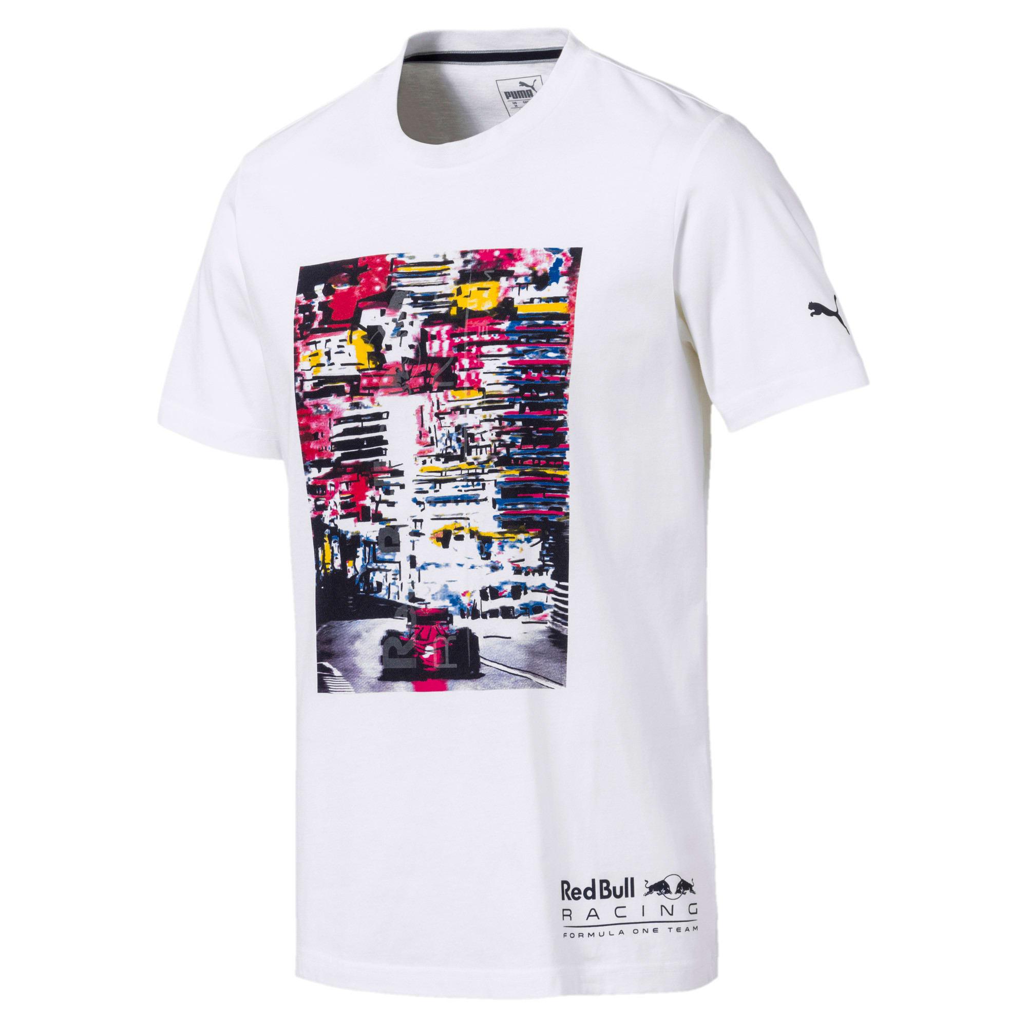 Thumbnail 1 of Red Bull Racing Lifestyle Men's Graphic T-Shirt, Puma White, medium