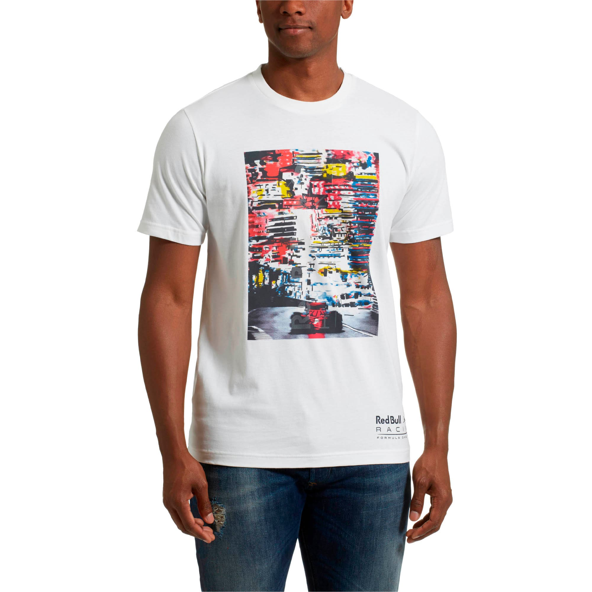 Thumbnail 2 of Red Bull Racing Lifestyle Men's Graphic T-Shirt, Puma White, medium