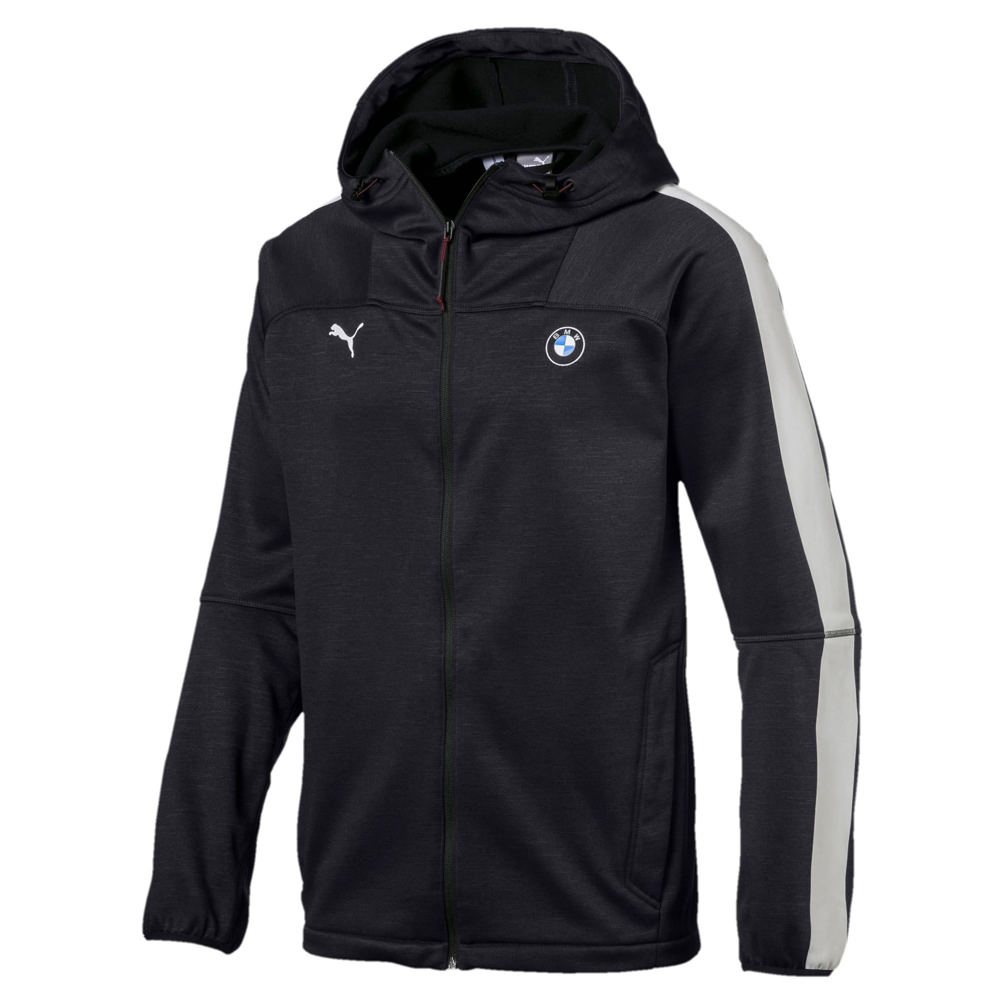 Thumbnail 1 of BMW M Motorsport Men's Life Softshell Jacket, Puma Black, medium