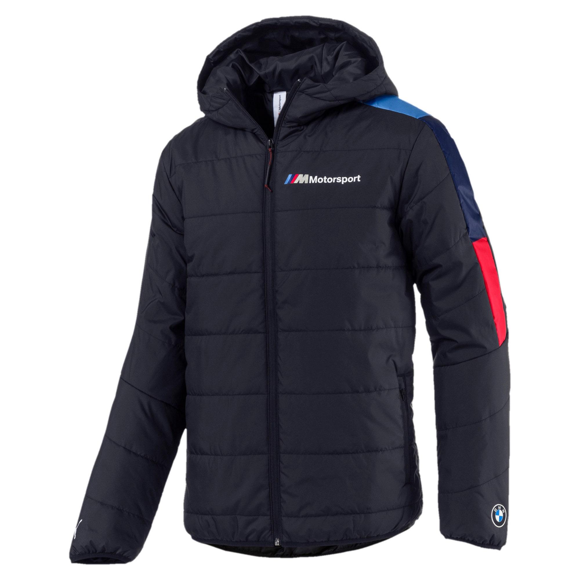 Thumbnail 1 of BMW M Motorsport Men's T7 Jacket, Anthracite, medium