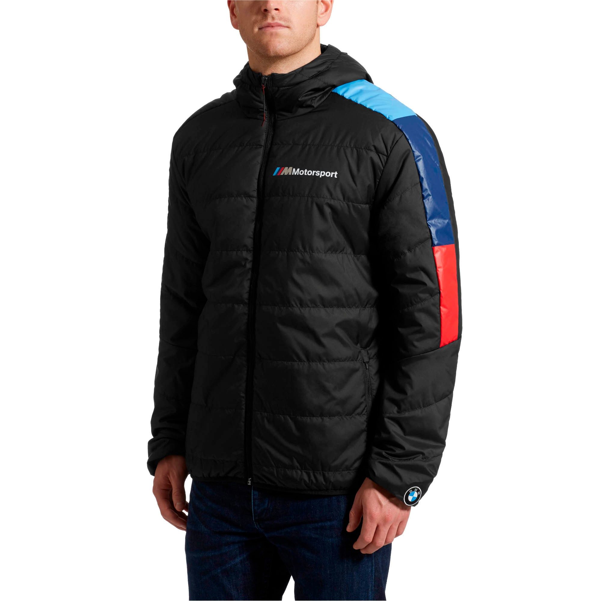 Thumbnail 2 of BMW M Motorsport Men's T7 Jacket, Anthracite, medium