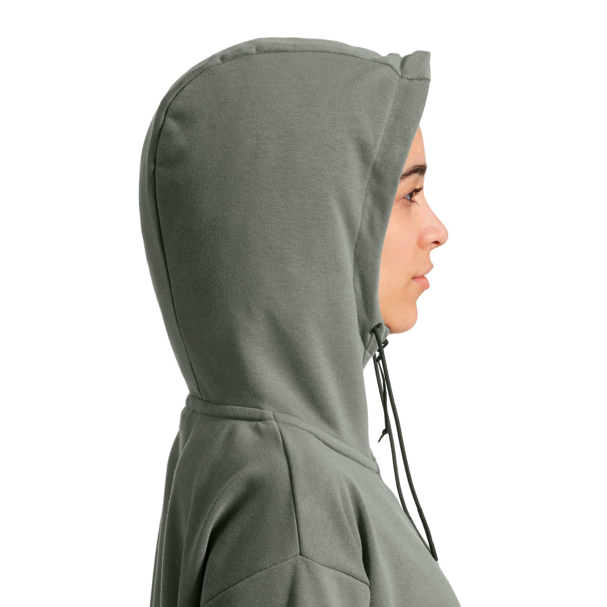 Thumbnail 4 of Scuderia Ferrari Lifestyle Women's Hooded Sweat Jacket, Laurel Wreath, medium