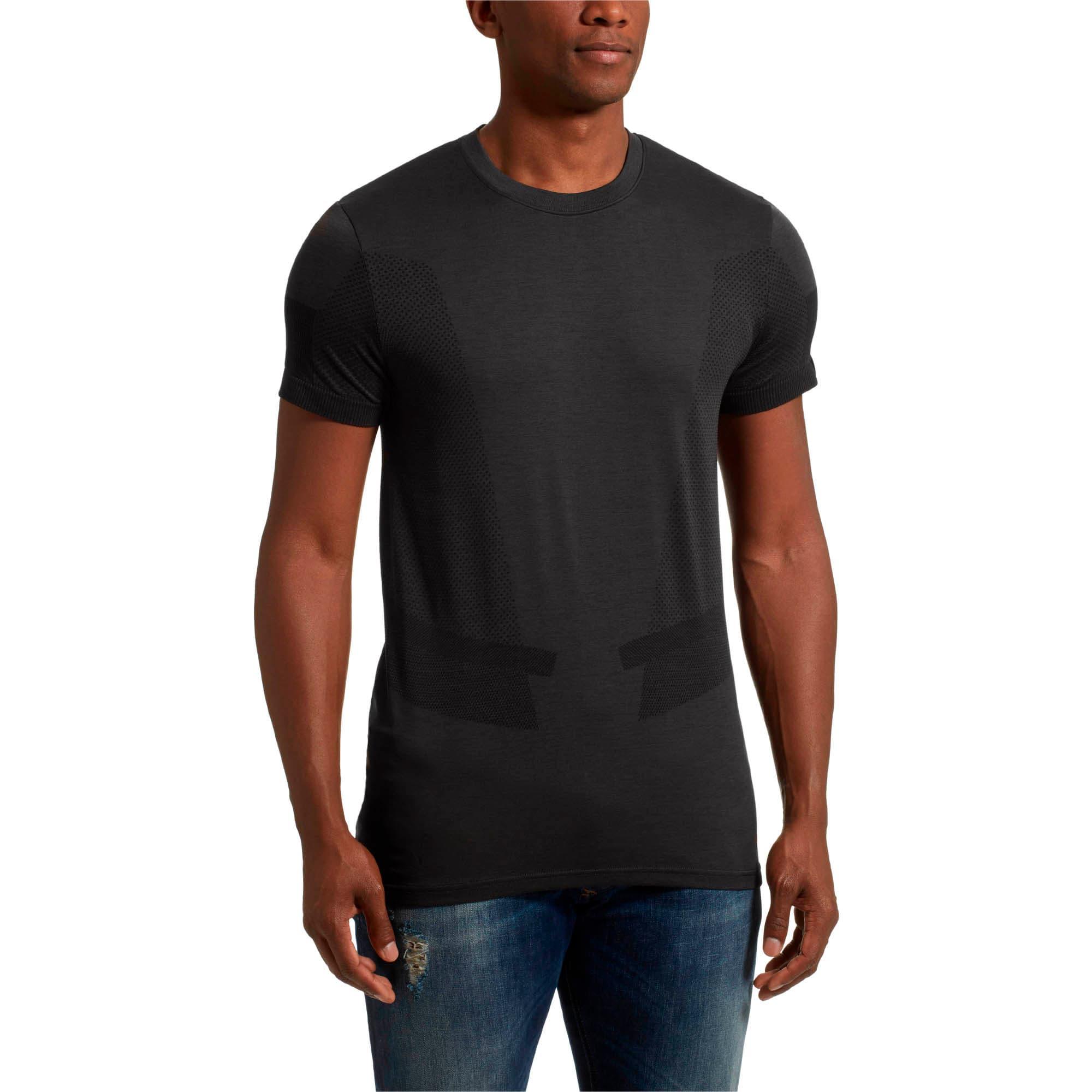 Miniatura 2 de Camiseta Scuderia FerrarievoKNIT para hombre, Puma Black, mediano