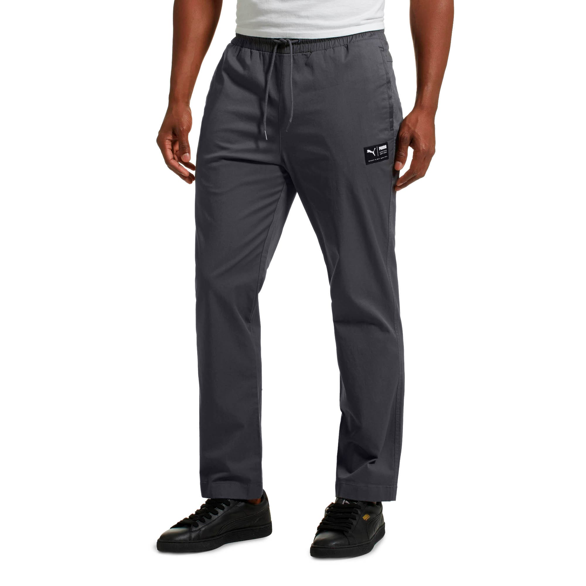Downtown Twill Men's Pants, Iron Gate, large