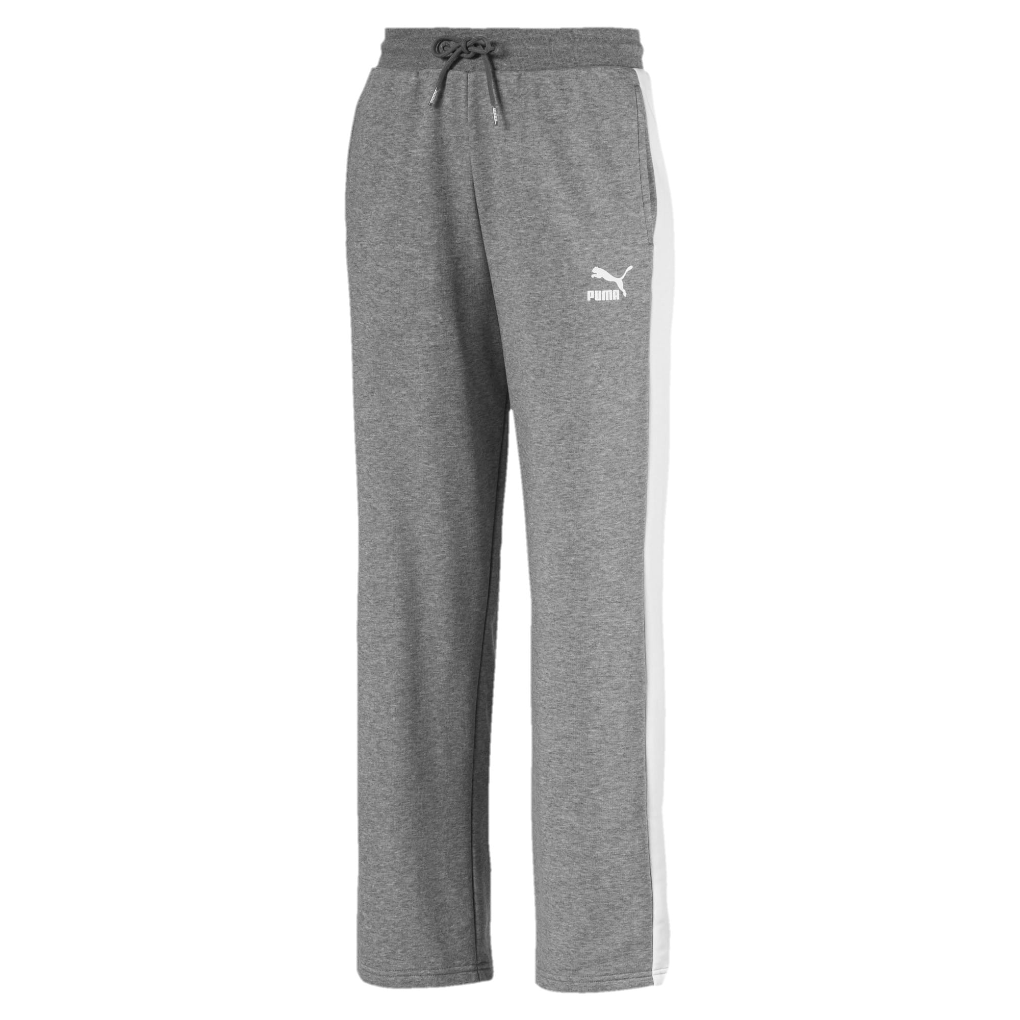 Thumbnail 1 of Classics T7 Straight Pants, Medium Gray Heather, medium