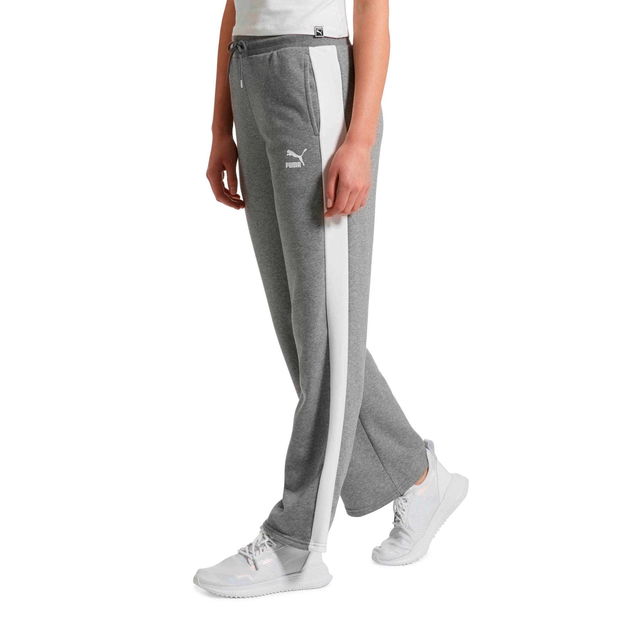 Thumbnail 2 of Classics T7 Straight Pants, Medium Gray Heather, medium