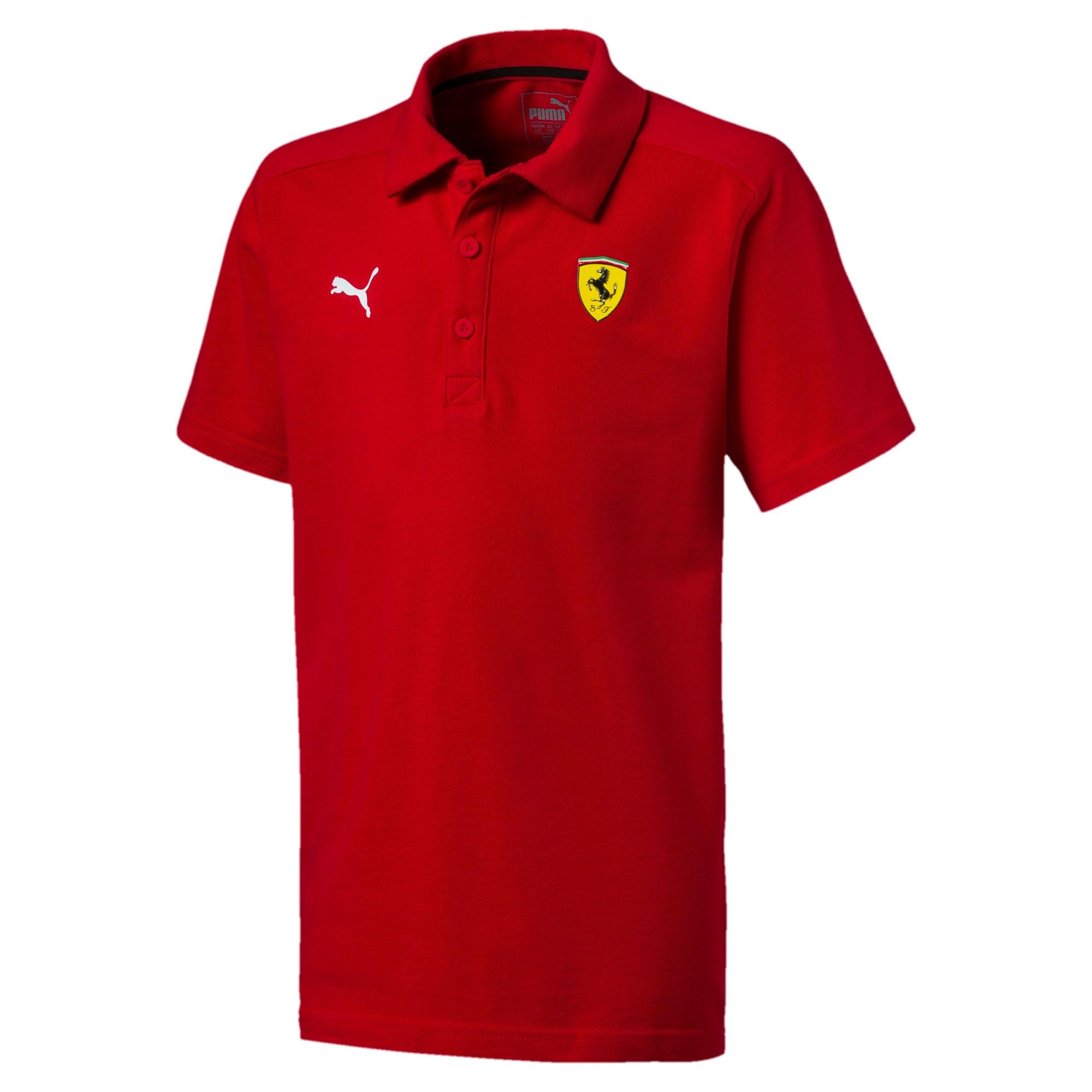 Thumbnail 1 of Scuderia Ferrari Boys' Polo JR, Rosso Corsa, medium
