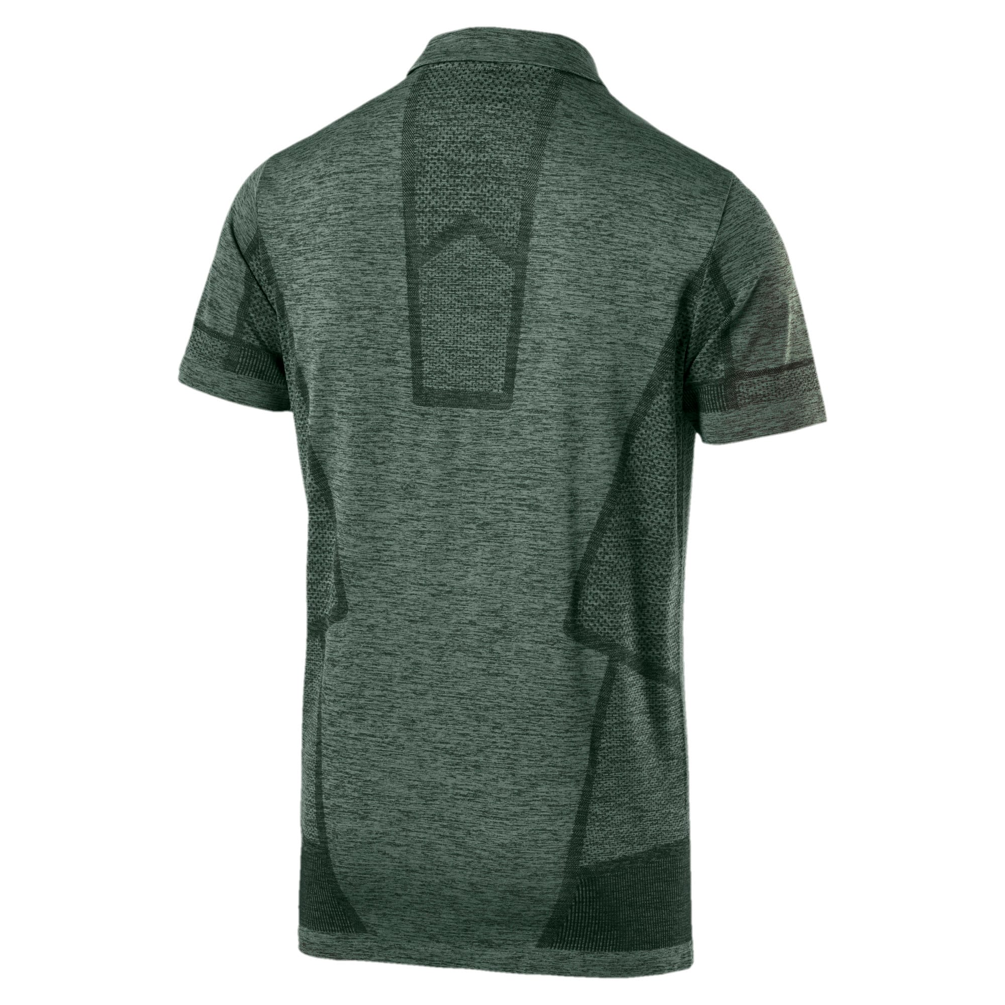 Thumbnail 4 of MERCEDES AMG PETRONAS Men's evoKNIT Polo, Laurel Wreath, medium-IND