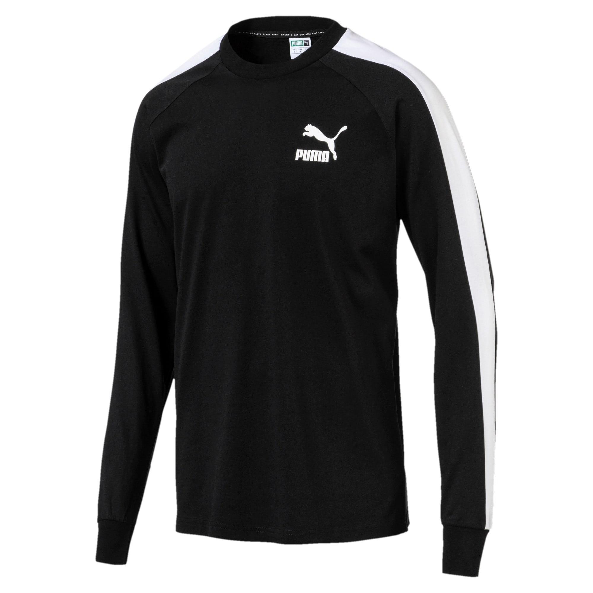 Thumbnail 1 of Classics T7 LS T-Shirt, Puma Black, medium