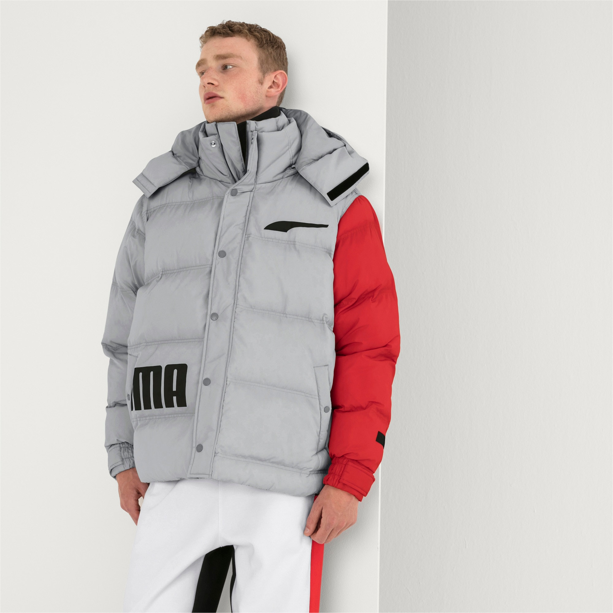 Thumbnail 2 of PUMA x ADER ERROR Hooded Button-Up Unisex Padded Jacket, High Rise, medium