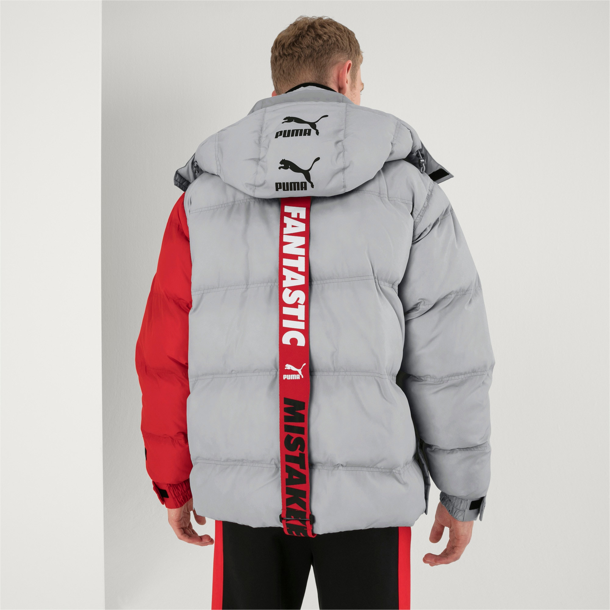 Thumbnail 3 of PUMA x ADER ERROR Hooded Button-Up Unisex Padded Jacket, High Rise, medium