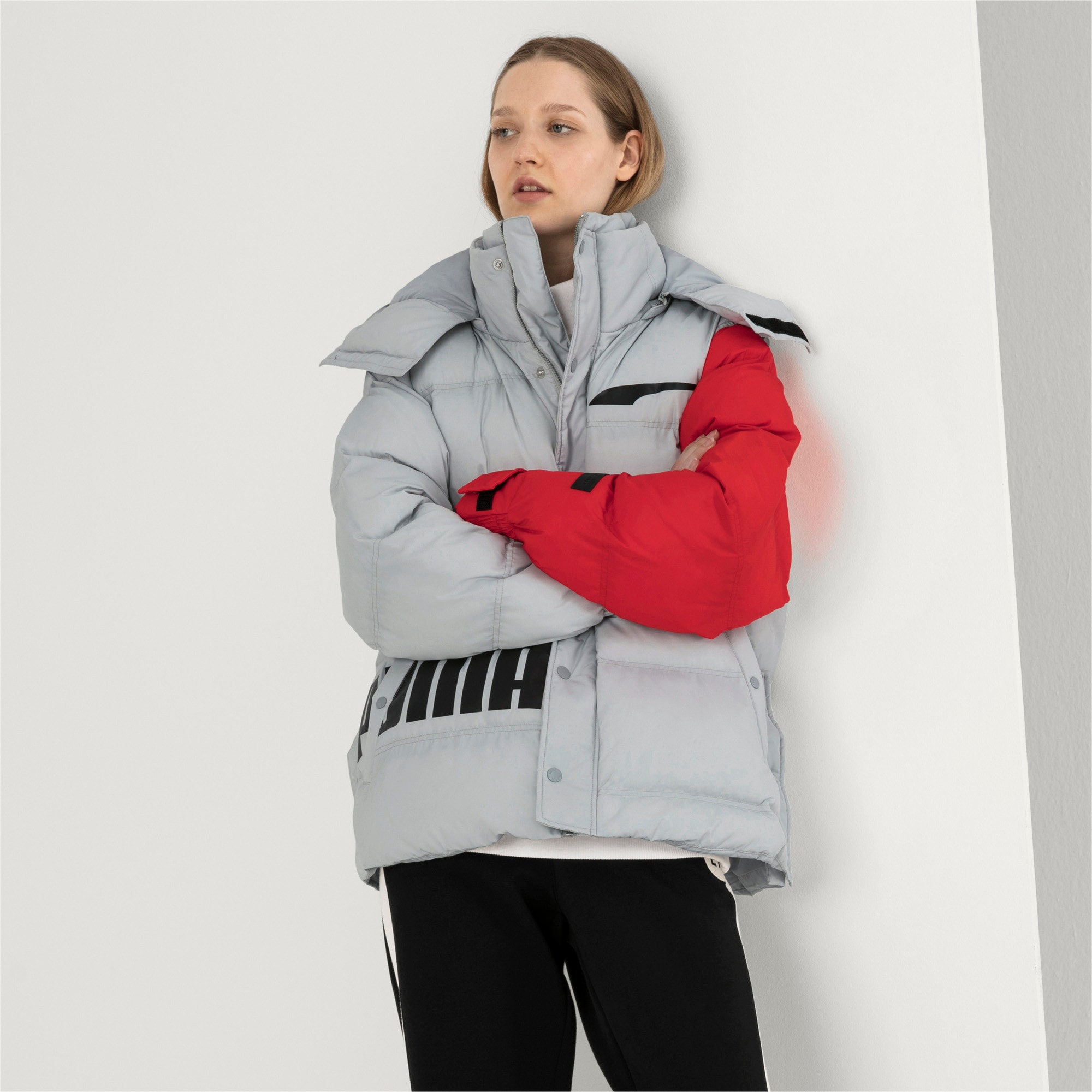 Thumbnail 6 of PUMA x ADER ERROR Hooded Button-Up Unisex Padded Jacket, High Rise, medium