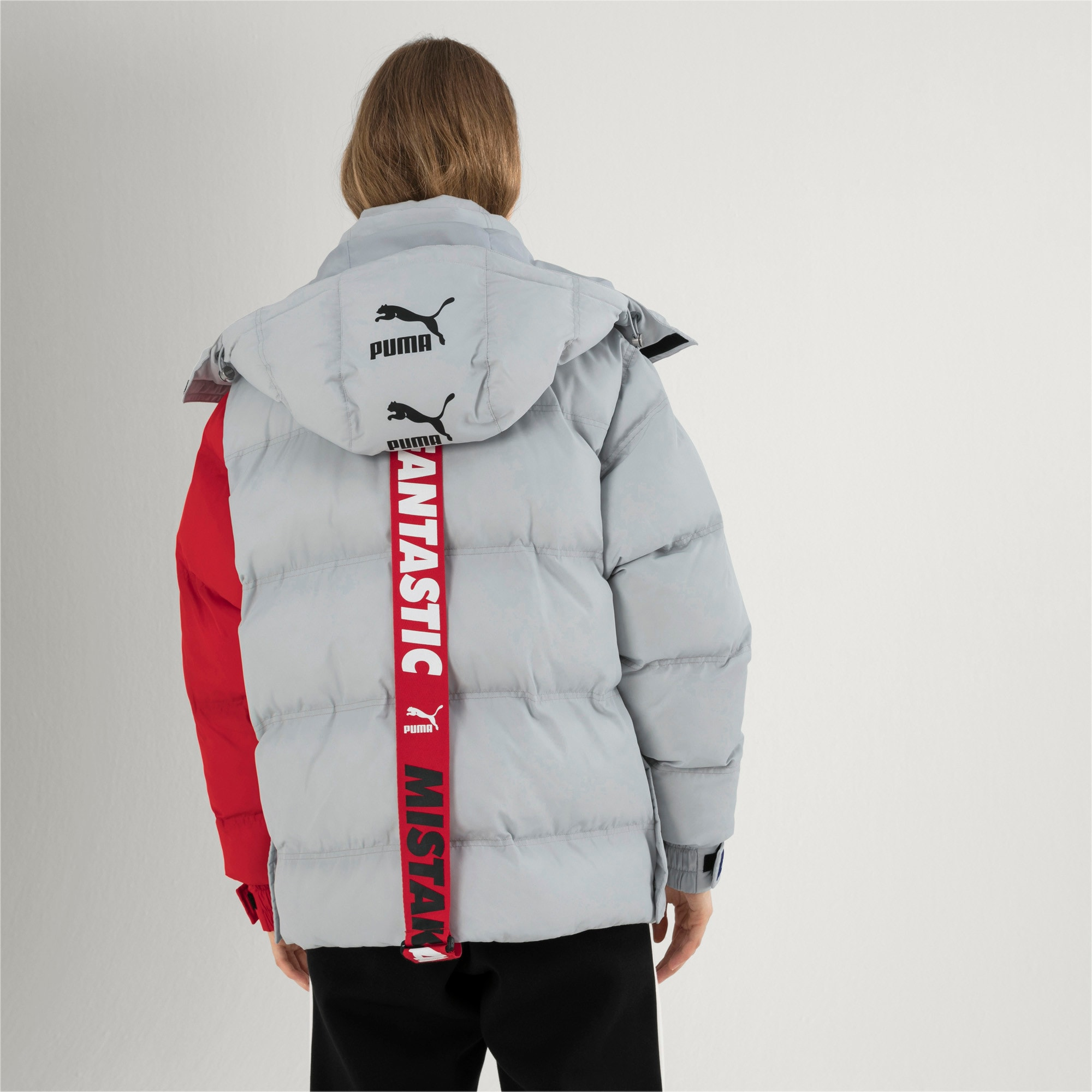 Thumbnail 7 of PUMA x ADER ERROR Hooded Button-Up Unisex Padded Jacket, High Rise, medium