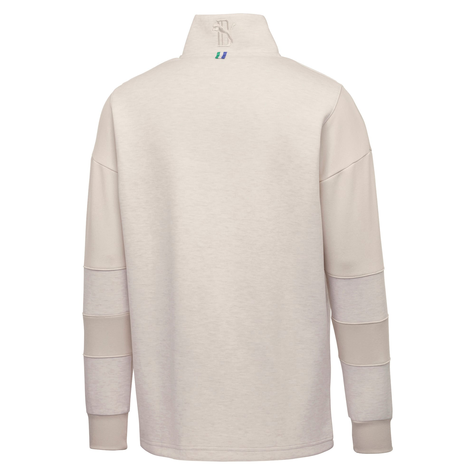 Thumbnail 2 of PUMA x BIG SEAN Half Zip Men's Pullover, Birch, medium