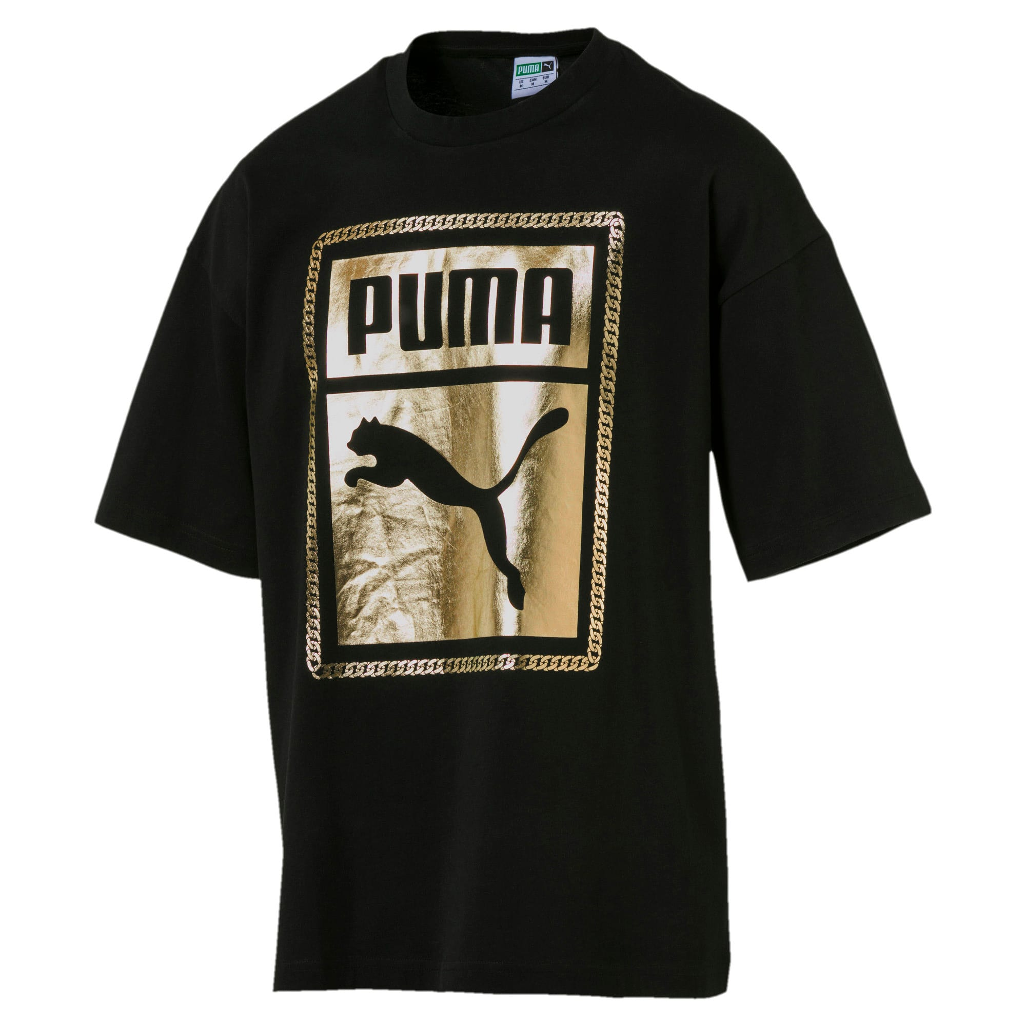 Thumbnail 1 of Chains Men's Tee, Puma Black-1, medium
