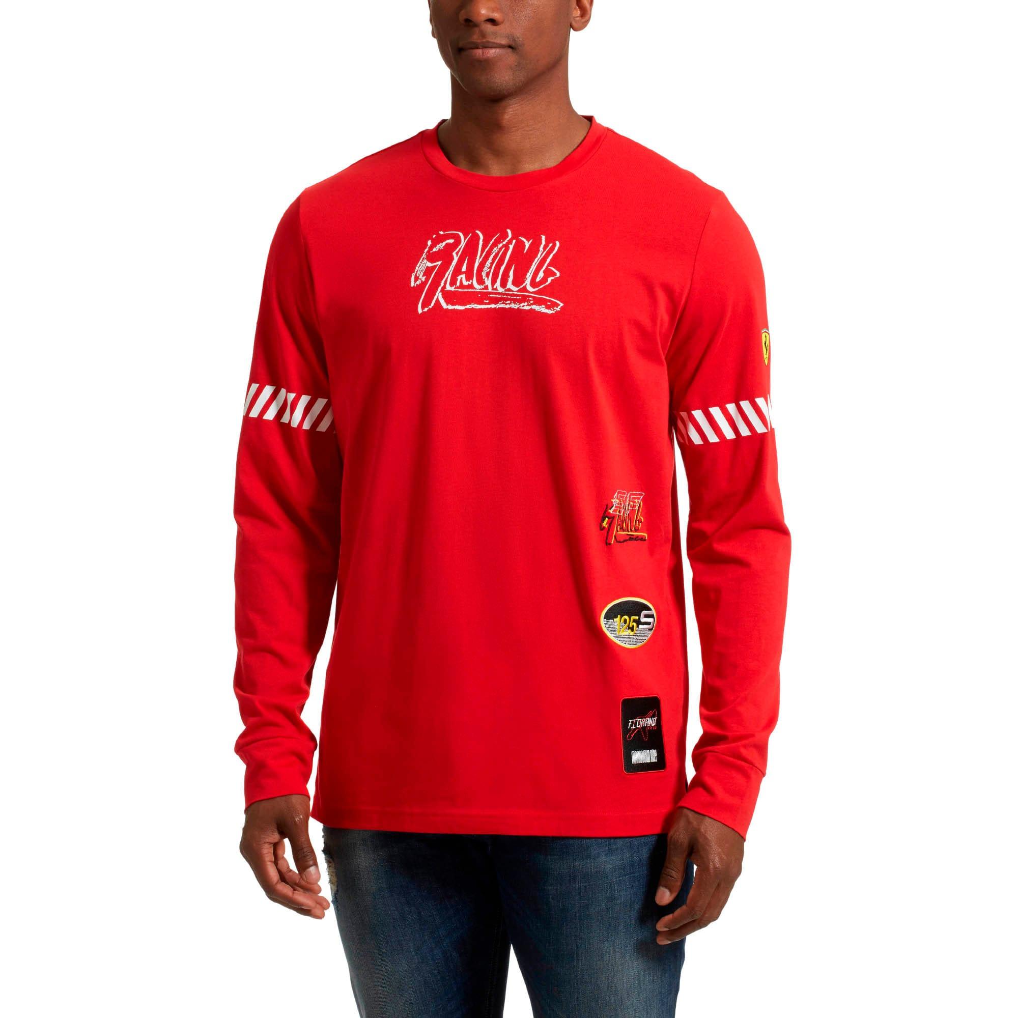Thumbnail 2 of Scuderia Ferrari Street LS T-Shirt, Rosso Corsa, medium