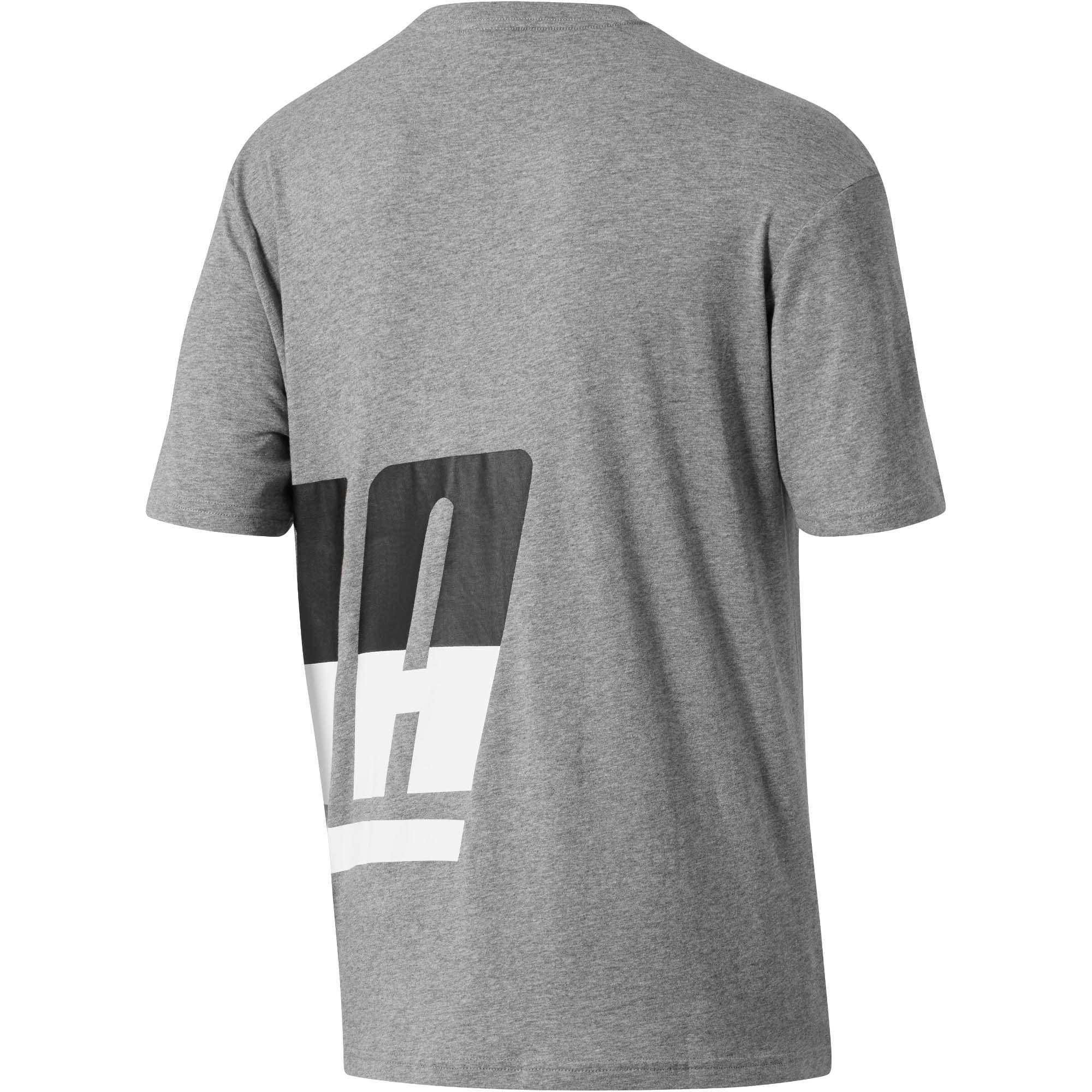 Thumbnail 3 of Men's Loud T-Shirt, Medium Gray Heather, medium