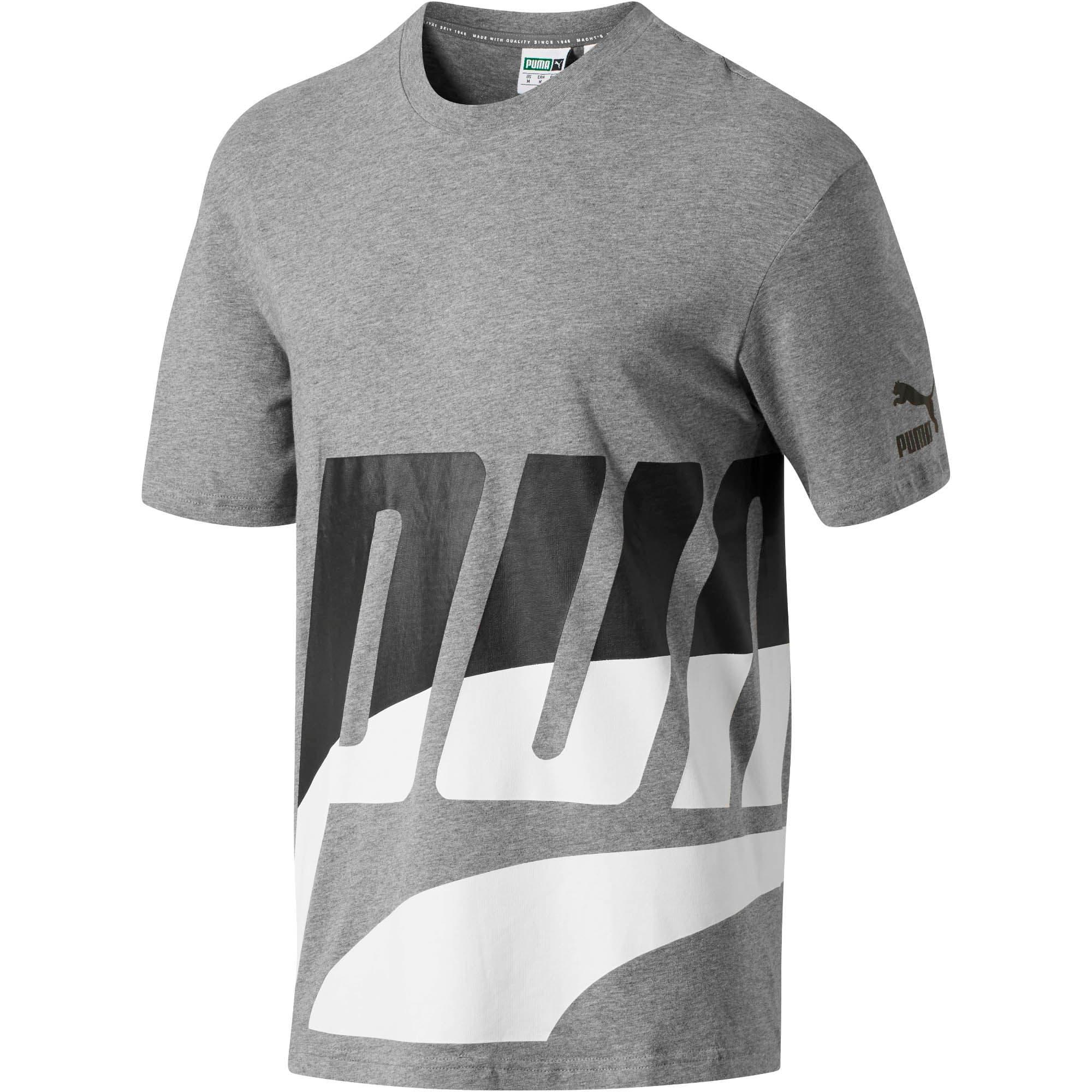 Thumbnail 1 of Men's Loud T-Shirt, Medium Gray Heather, medium