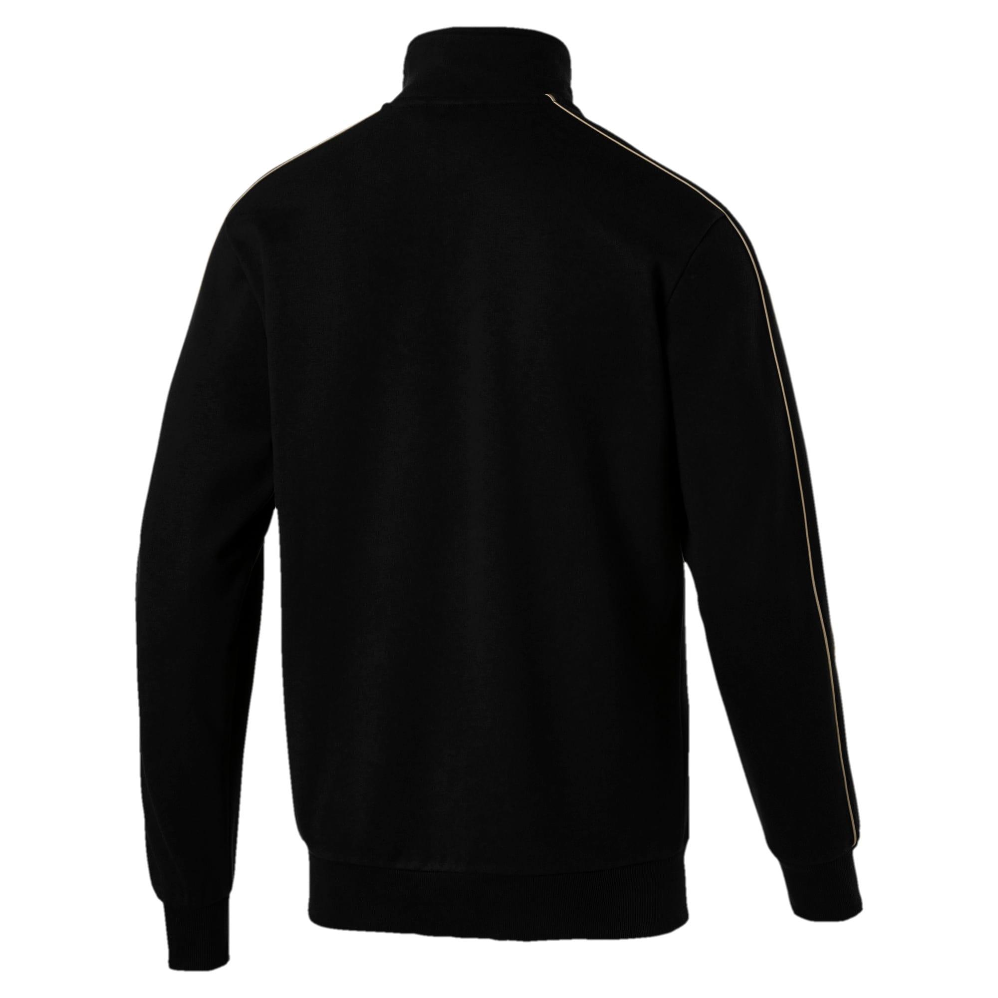 Thumbnail 2 of Chains T7 Zip-Up Men's Jacket, Puma Black, medium