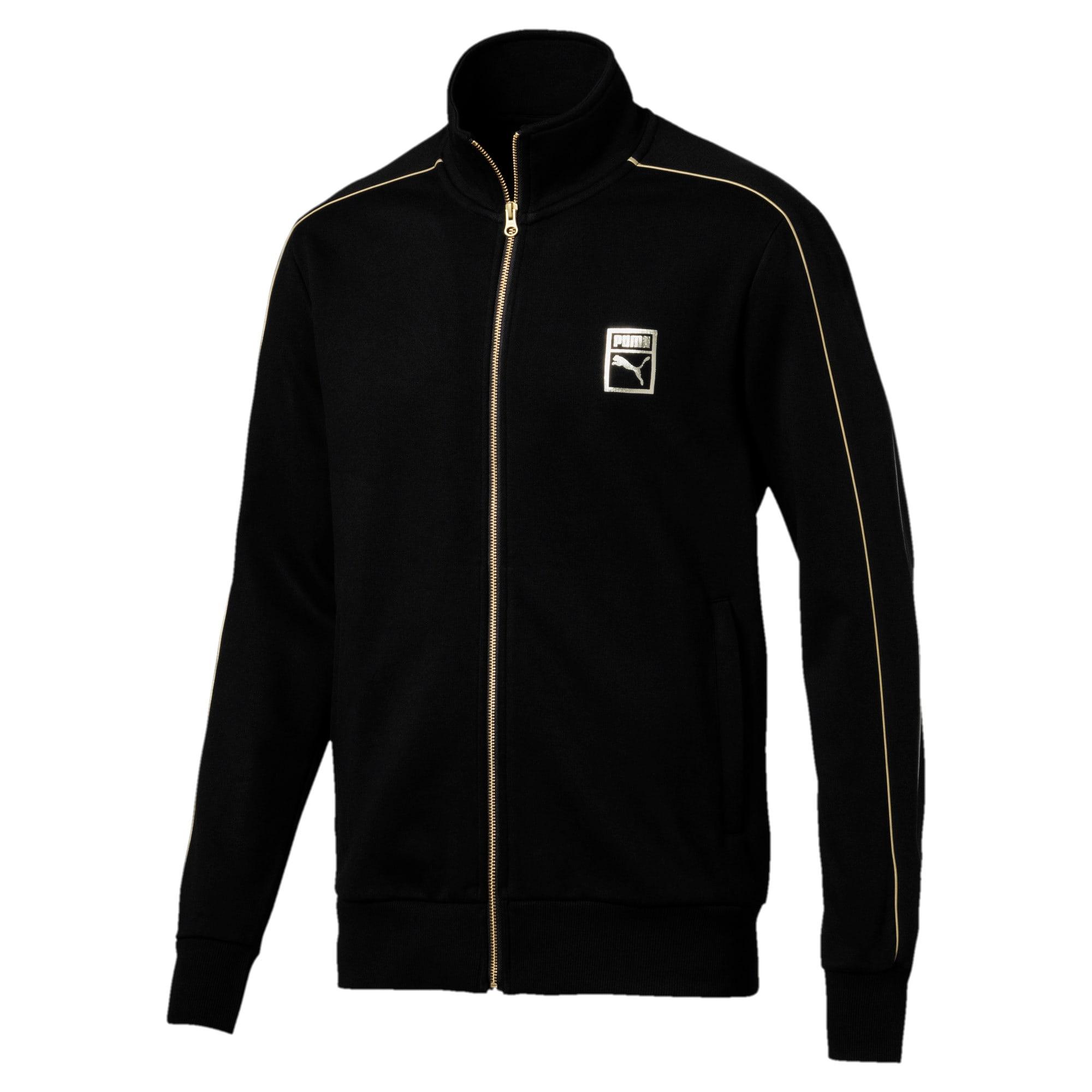 Thumbnail 1 of Chains T7 Zip-Up Men's Jacket, Puma Black, medium