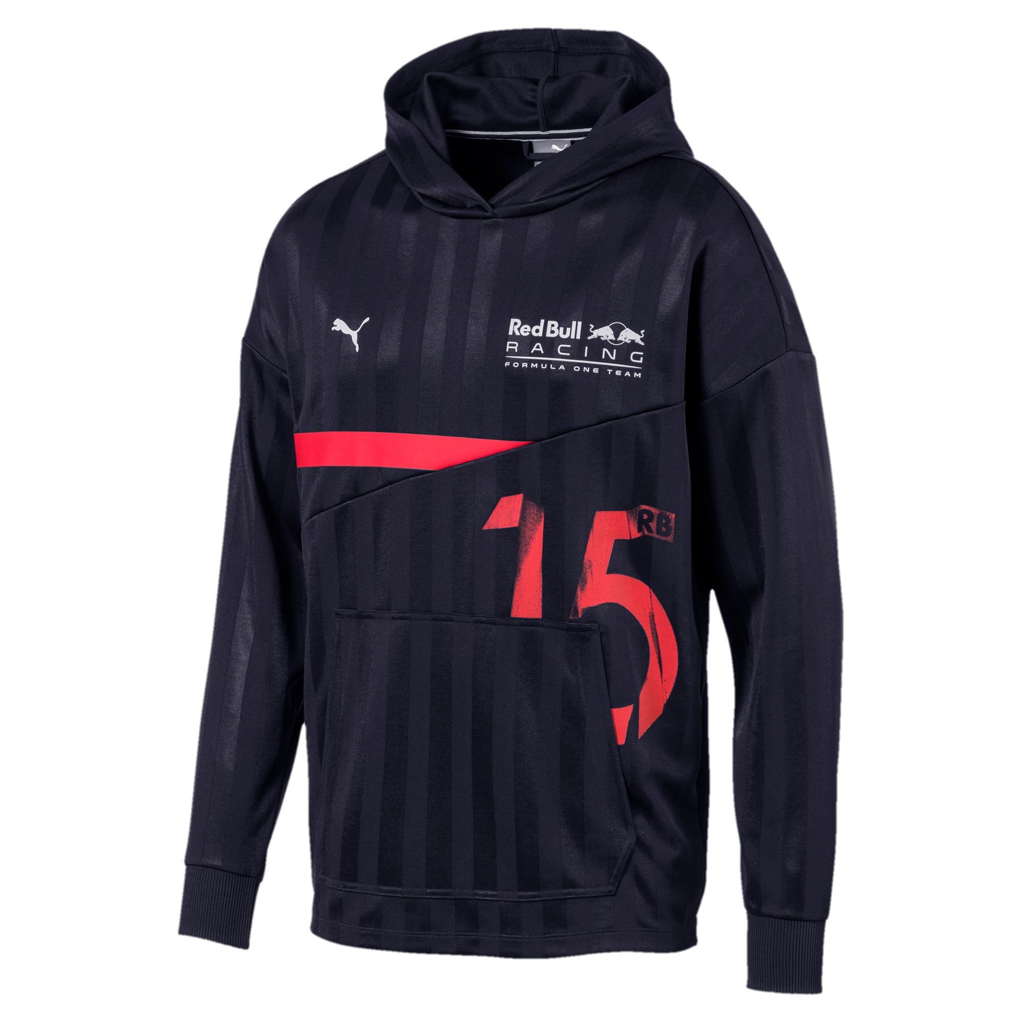Thumbnail 1 of Red Bull Racing Lifestyle Men's Hooded Midlayer, NIGHT SKY, medium
