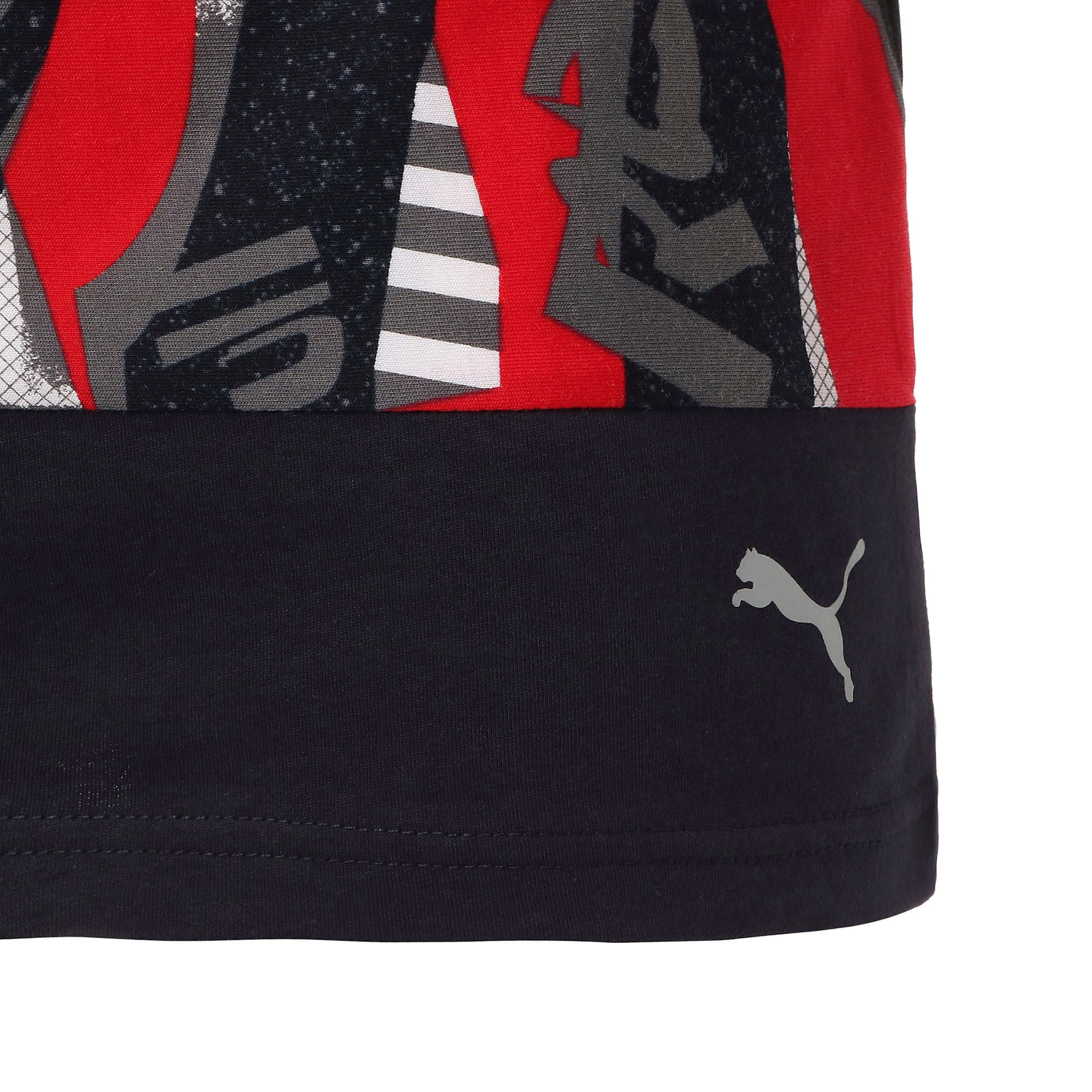 Thumbnail 9 of RED BULL RACING ライフ AOP Tシャツ, Chinese Red, medium-JPN