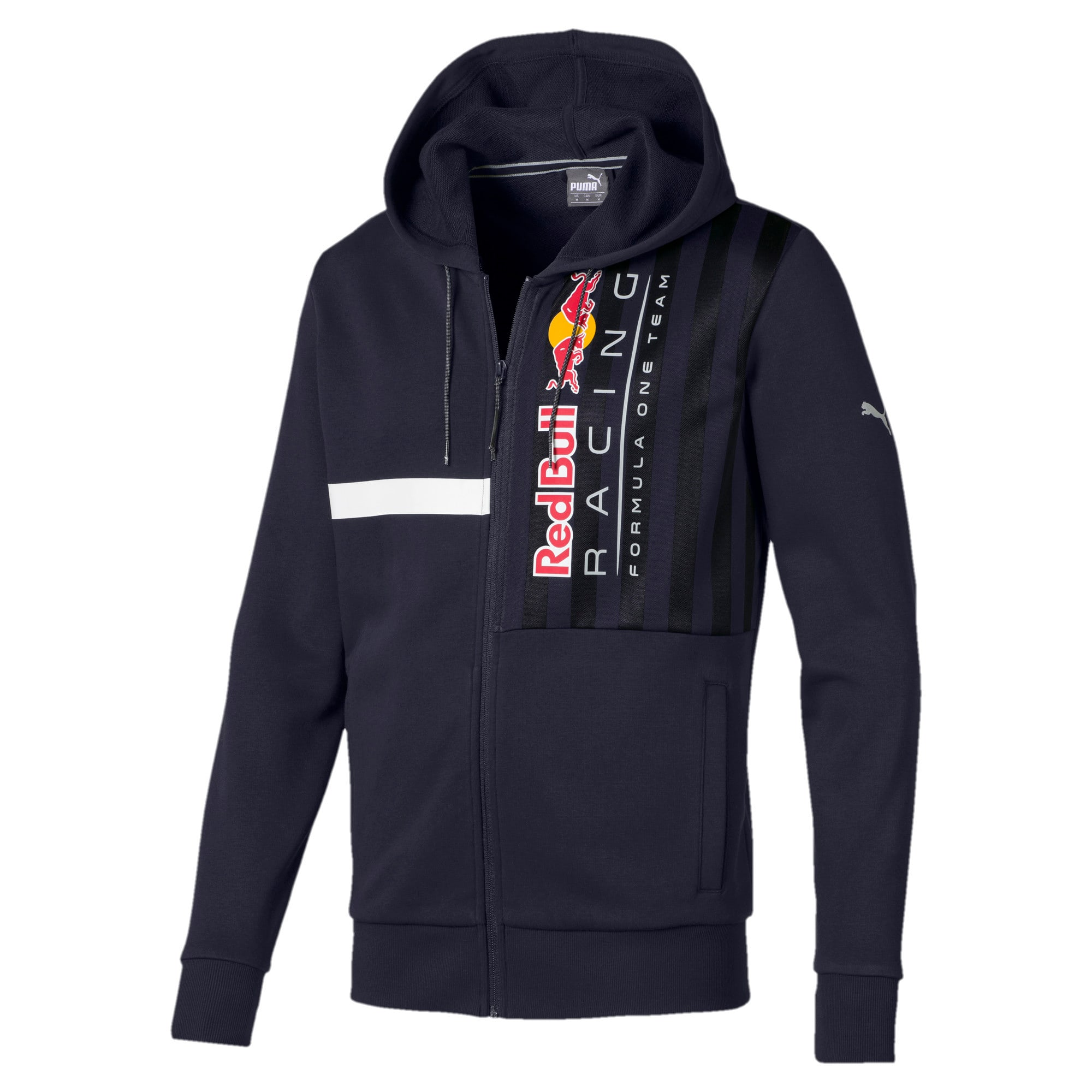 Thumbnail 4 of Red Bull Racing Hooded Men's Sweat Jacket, NIGHT SKY, medium