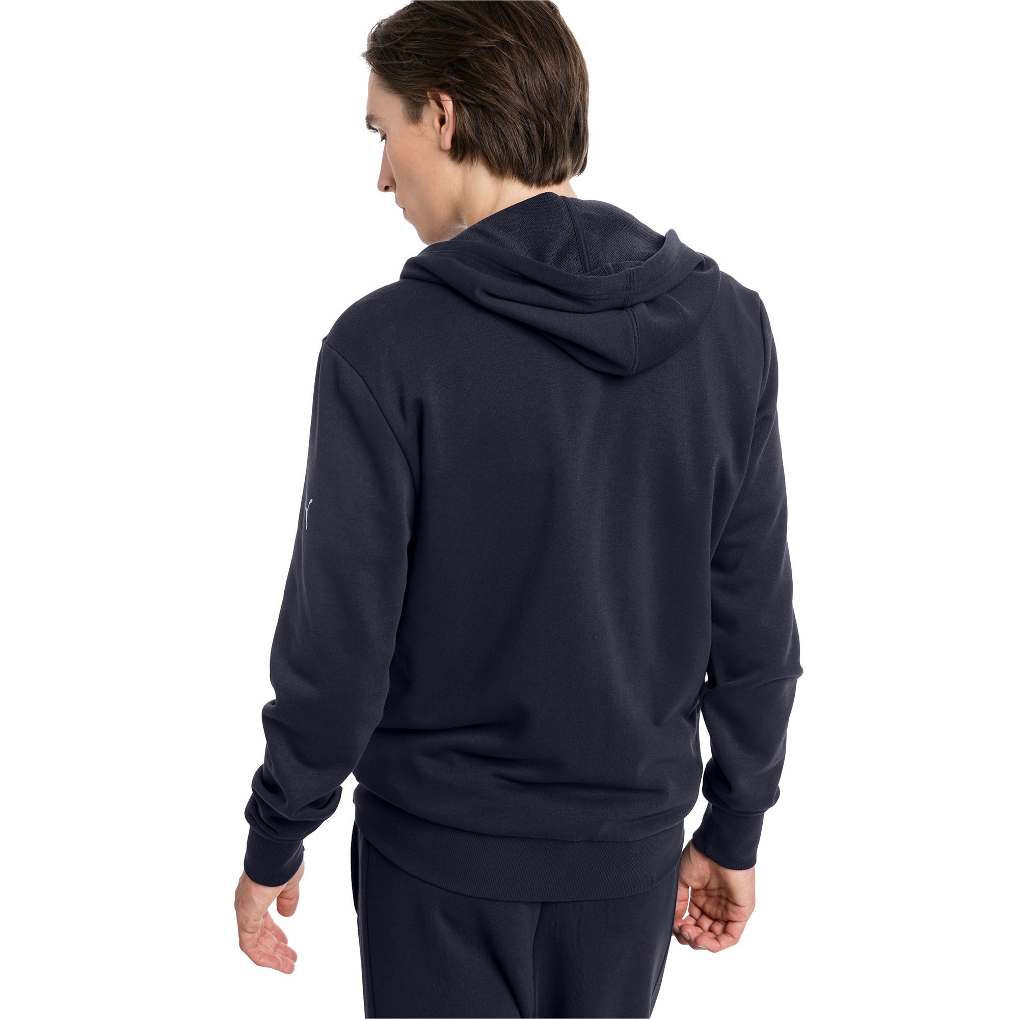 Thumbnail 2 of Red Bull Racing Logo Men's Hooded Sweat Jacket, NIGHT SKY, medium