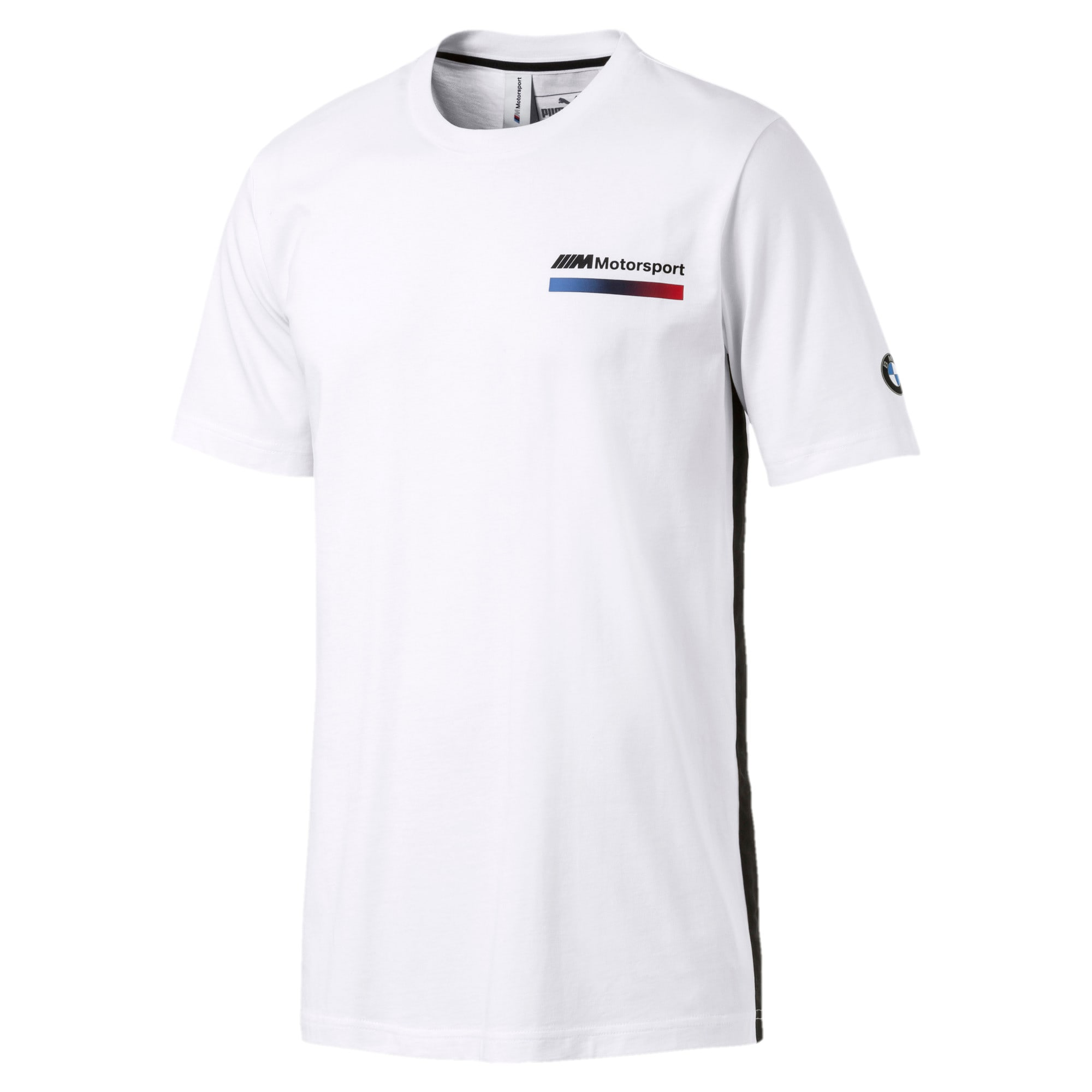 Thumbnail 4 of BMW M Motorsport Lifestyle Men's Graphic Tee, Puma White, medium