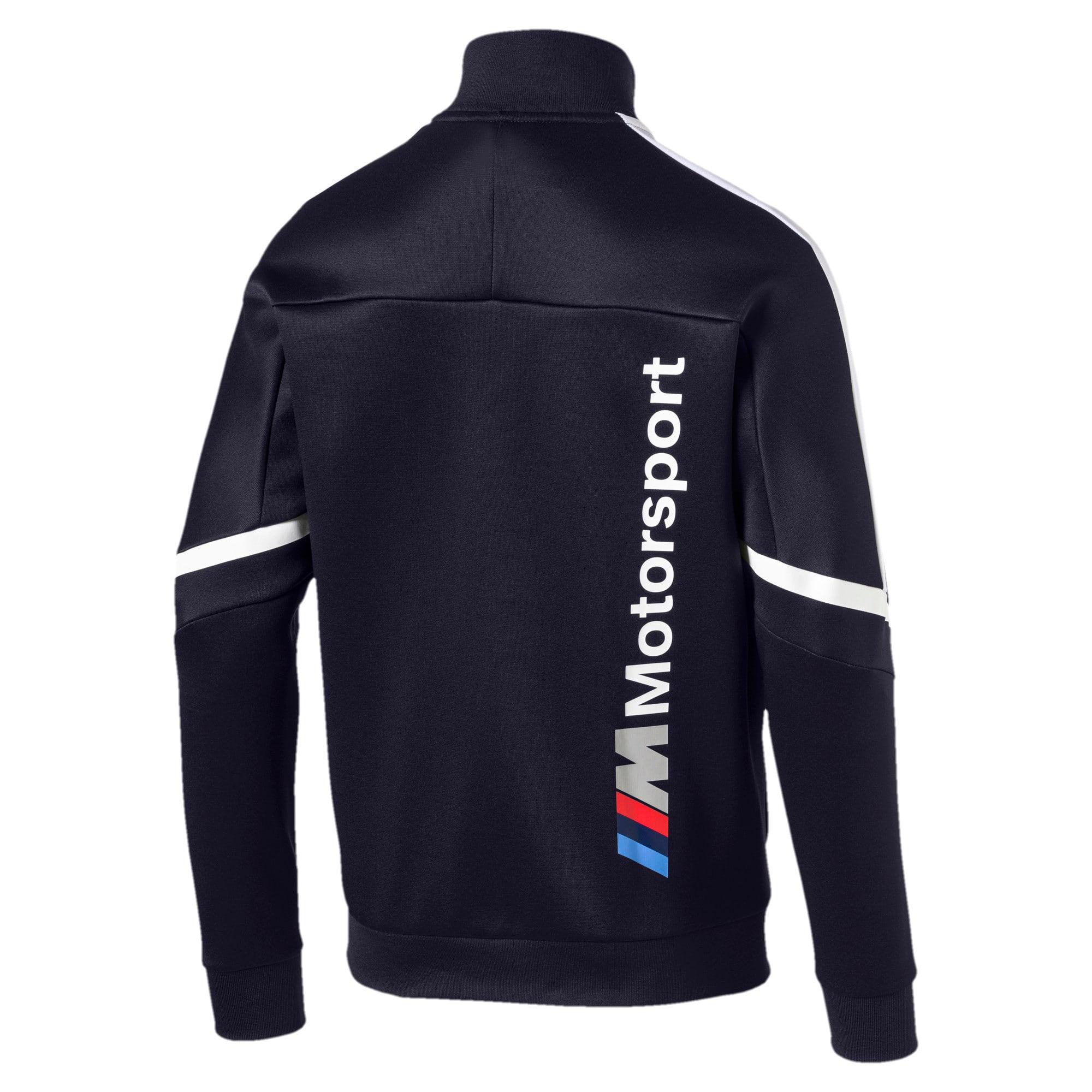 Thumbnail 3 of BMW M Motorsport Men's T7 Track Jacket, Team Blue, medium