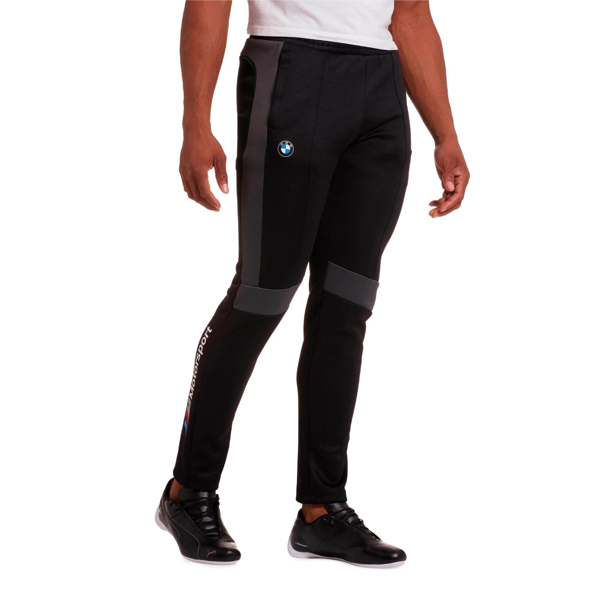 Miniatura 1 de Pantalones deportivos BMW M Motorsport T7 para hombre, Puma Black, mediano