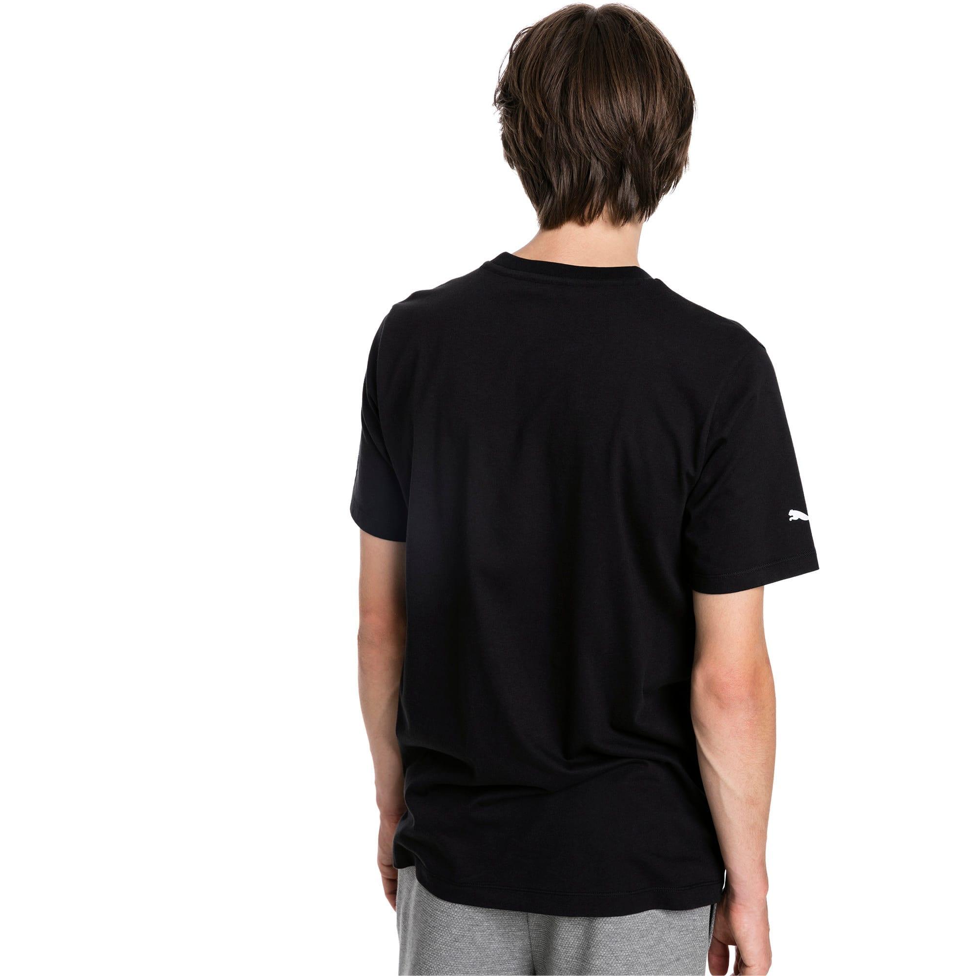 Miniatura 2 de Camiseta con estampa BMW M Motorsport para hombre, Puma Black, mediano