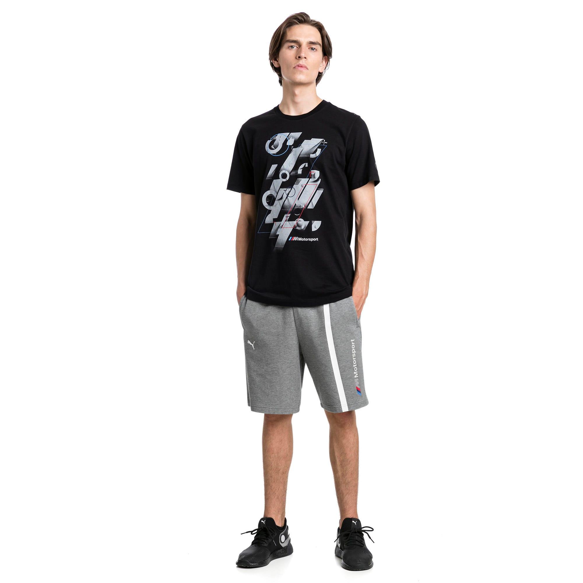 Miniatura 3 de Camiseta con estampa BMW M Motorsport para hombre, Puma Black, mediano