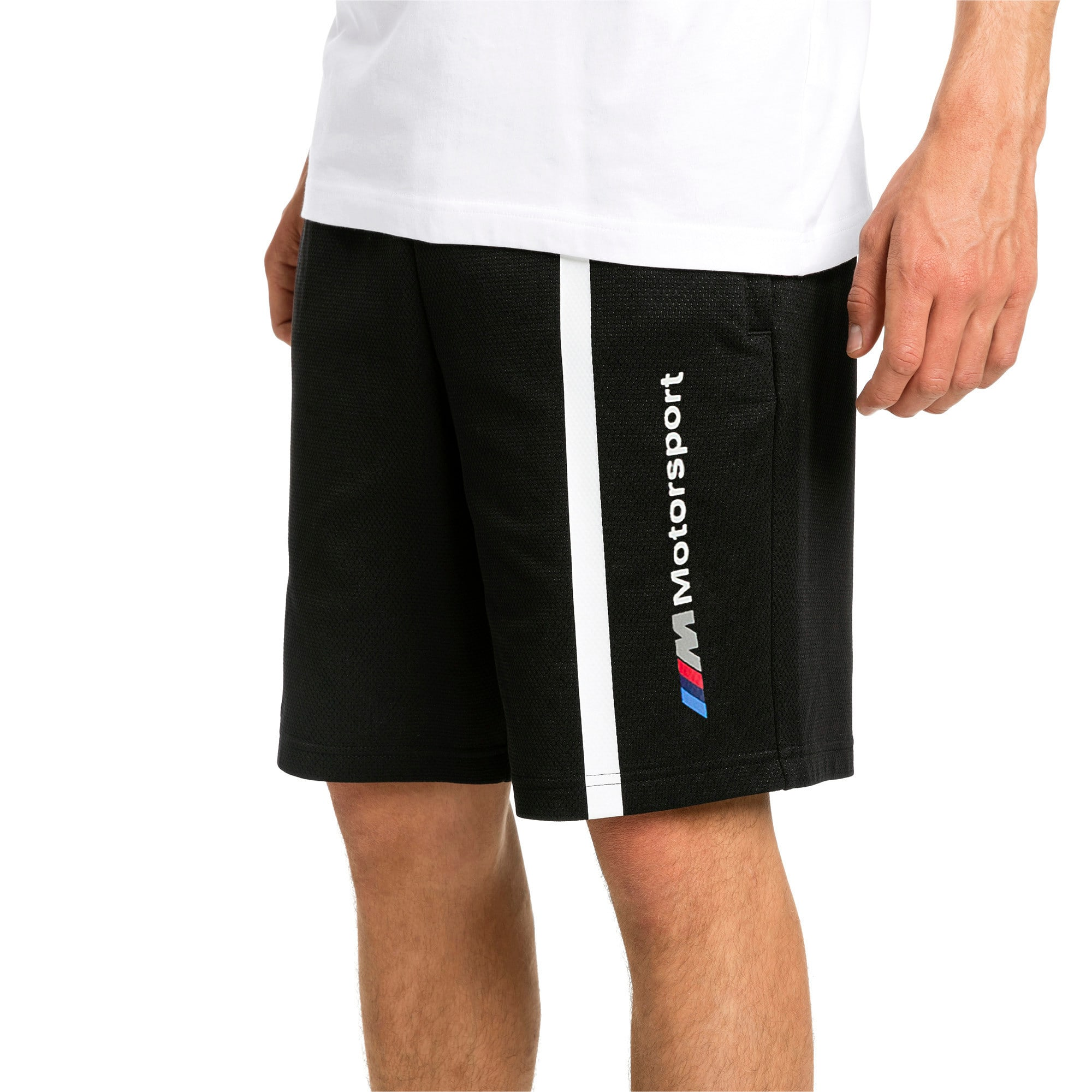 Miniatura 1 de Shorts deportivos BMW M Motorsport para hombre, Puma Black, mediano