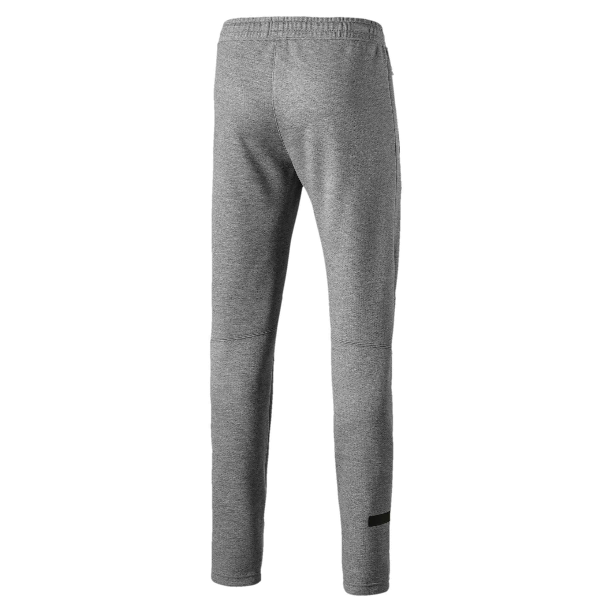 Mercedes AMG Petronas Knitted Men's Sweatpants, Medium Gray Heather, large