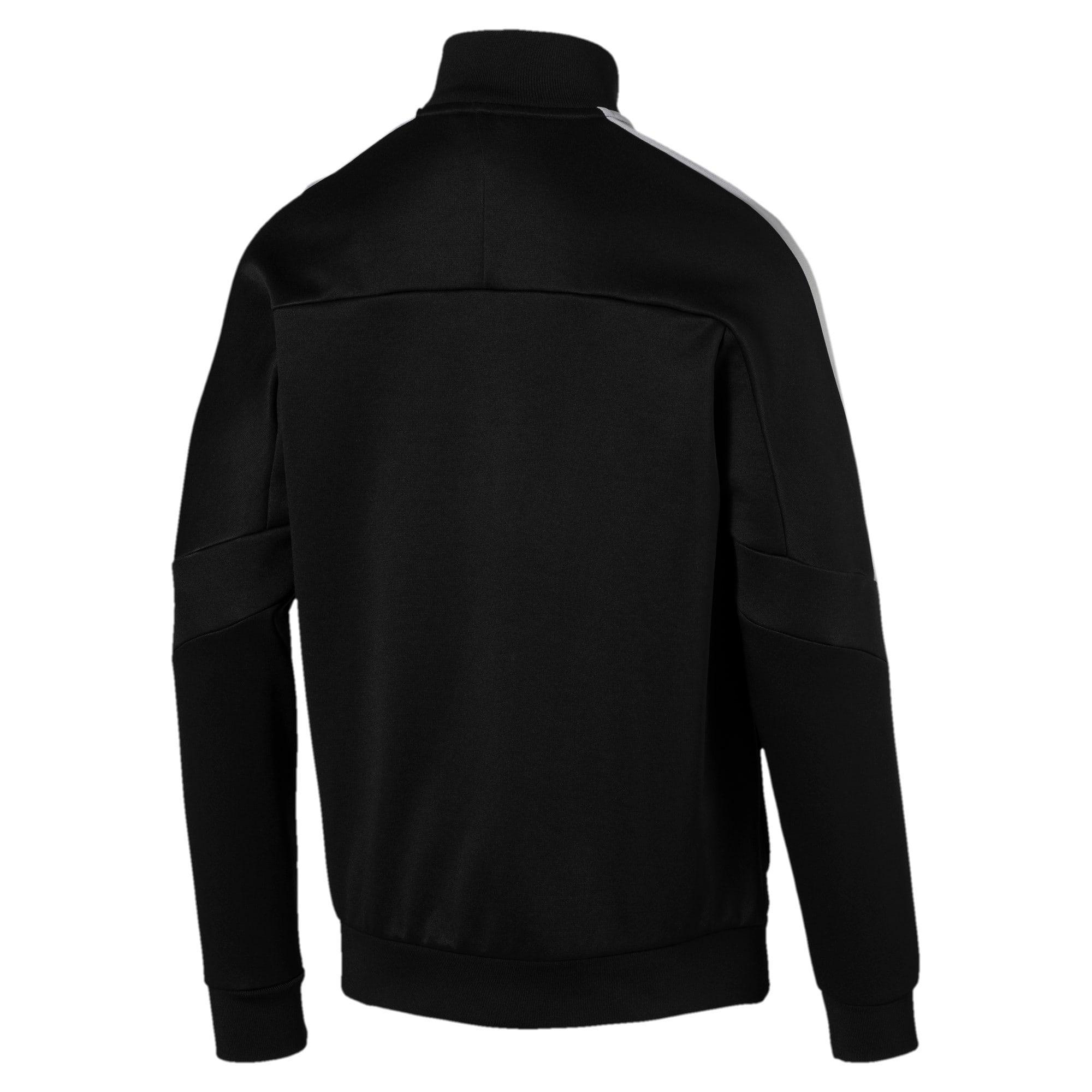 Thumbnail 2 of Mercedes AMG Petronas Men's T7 Track Jacket, Puma Black, medium