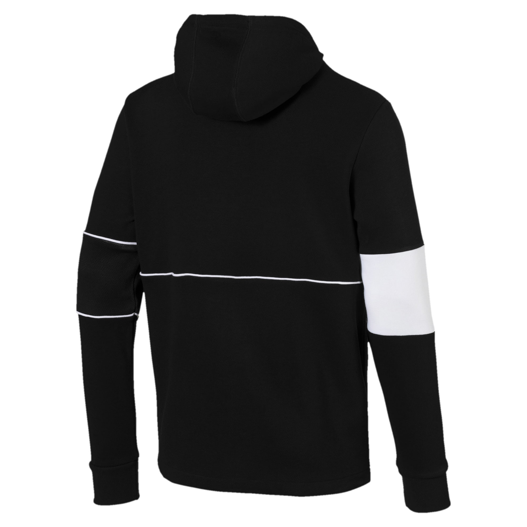 Thumbnail 5 of Scuderia Ferrari Men's Hooded Sweat Jacket, Puma Black, medium
