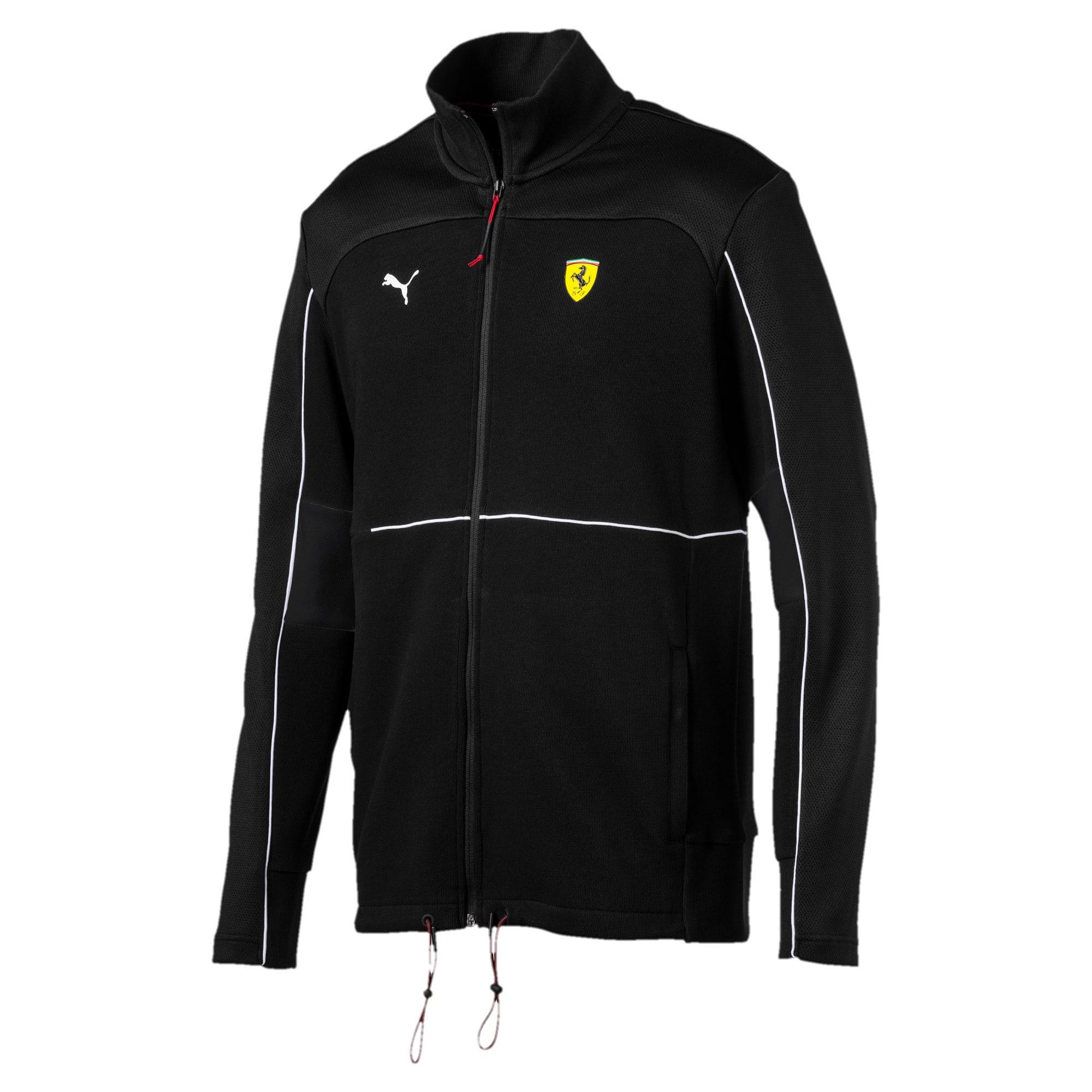 Thumbnail 2 of Scuderia Ferrari Sweat Jacket, Puma Black, medium