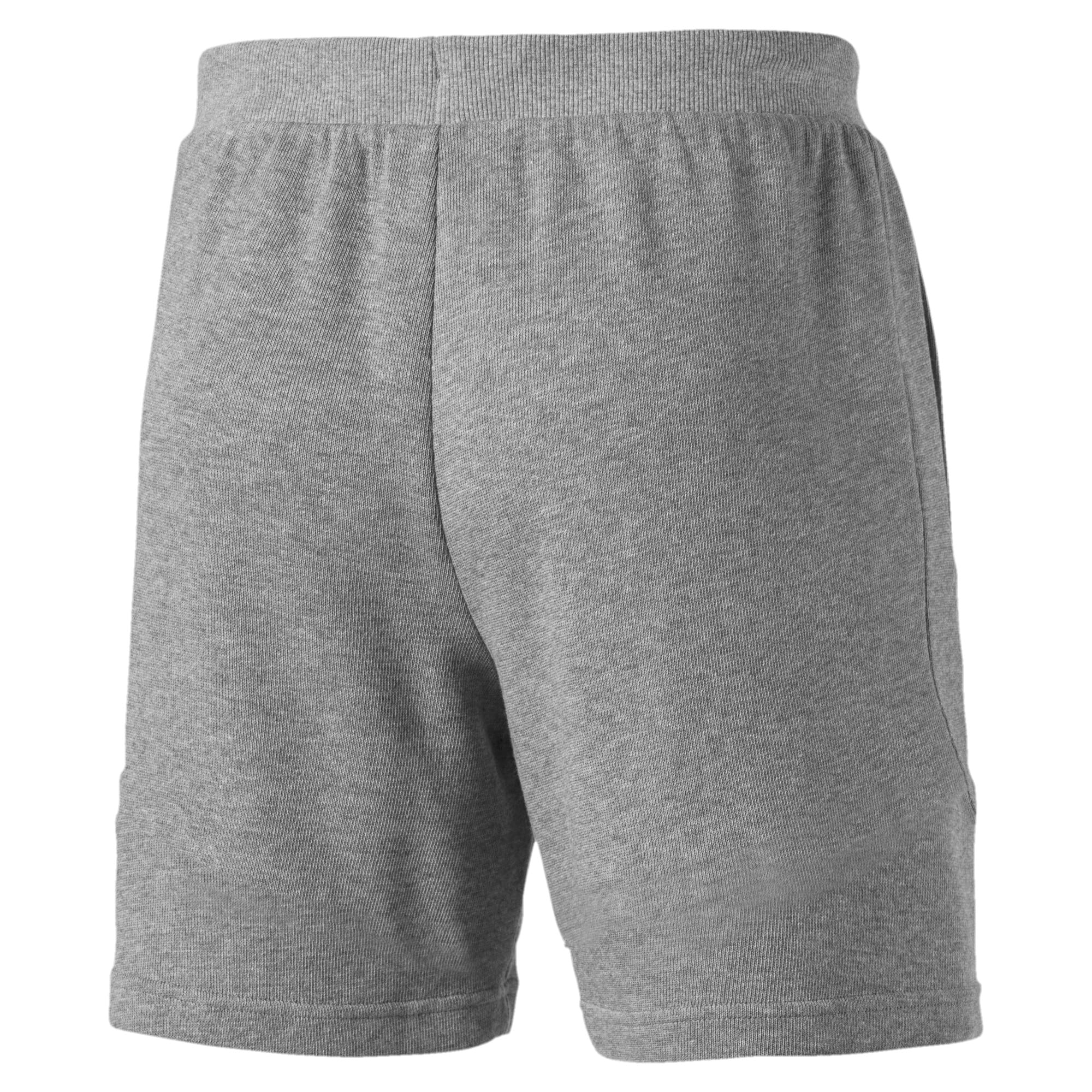 Thumbnail 3 of Scuderia Ferrari Men's Sweat Shorts, Medium Gray Heather, medium